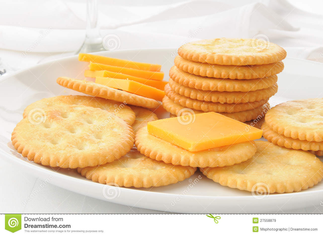Cheese And Crackers Royalty Free Stock Images - Image: 27558879