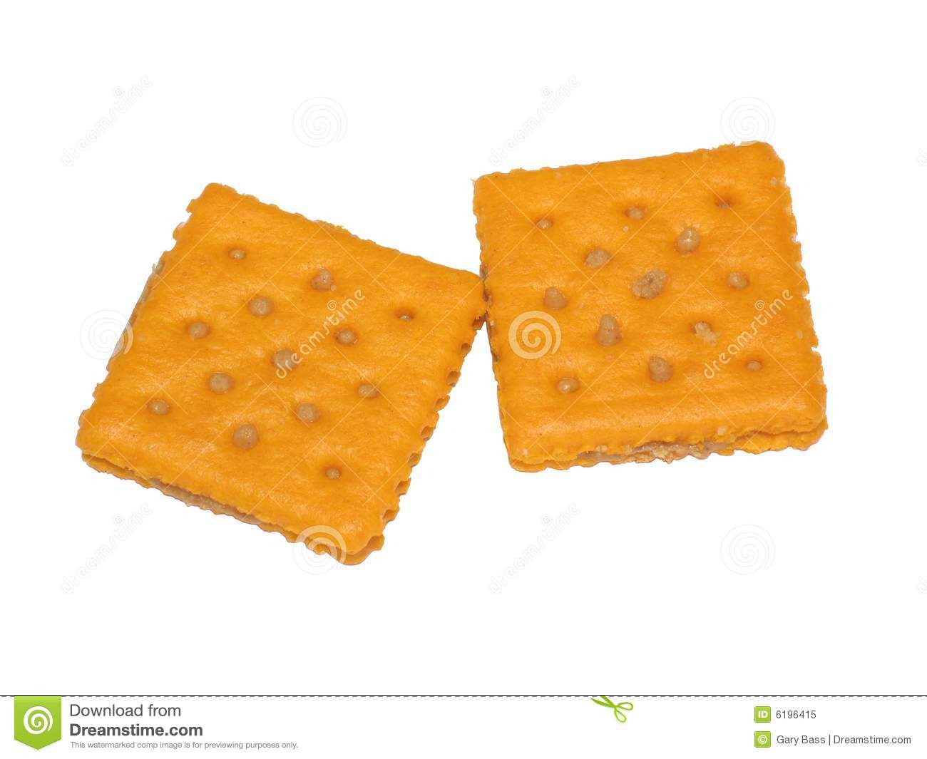 Cheese Crackers Royalty Free Stock Photo