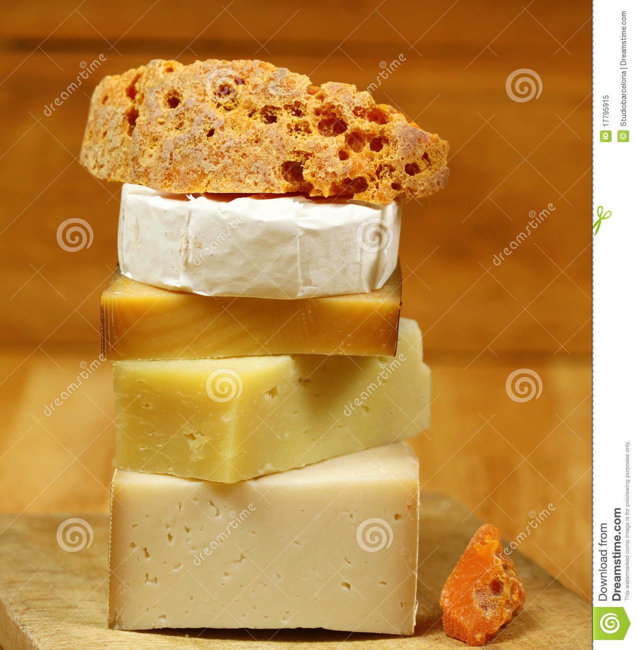 Different Cheese Kinds Stock Photography Cartoondealer