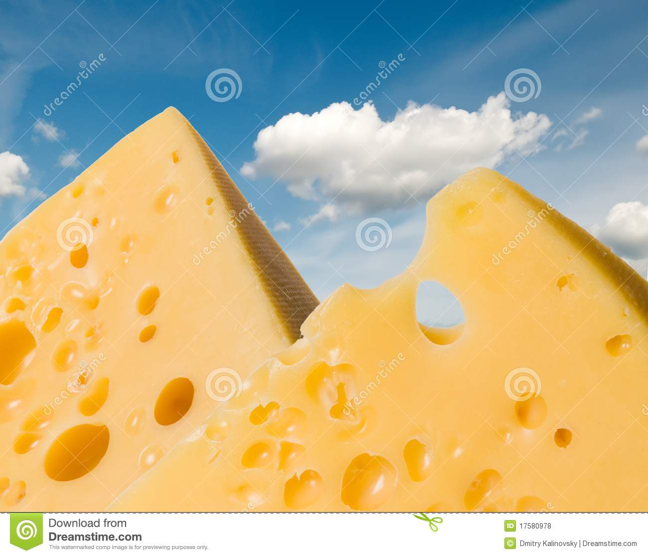 Cheese mountains