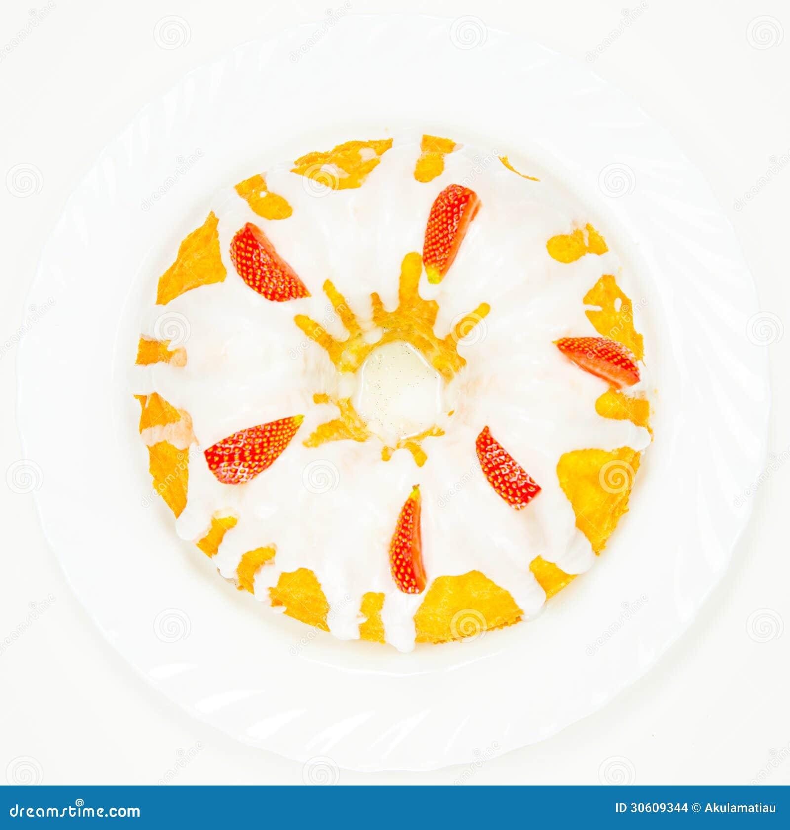 White Sugar Glaze For Pound Cake