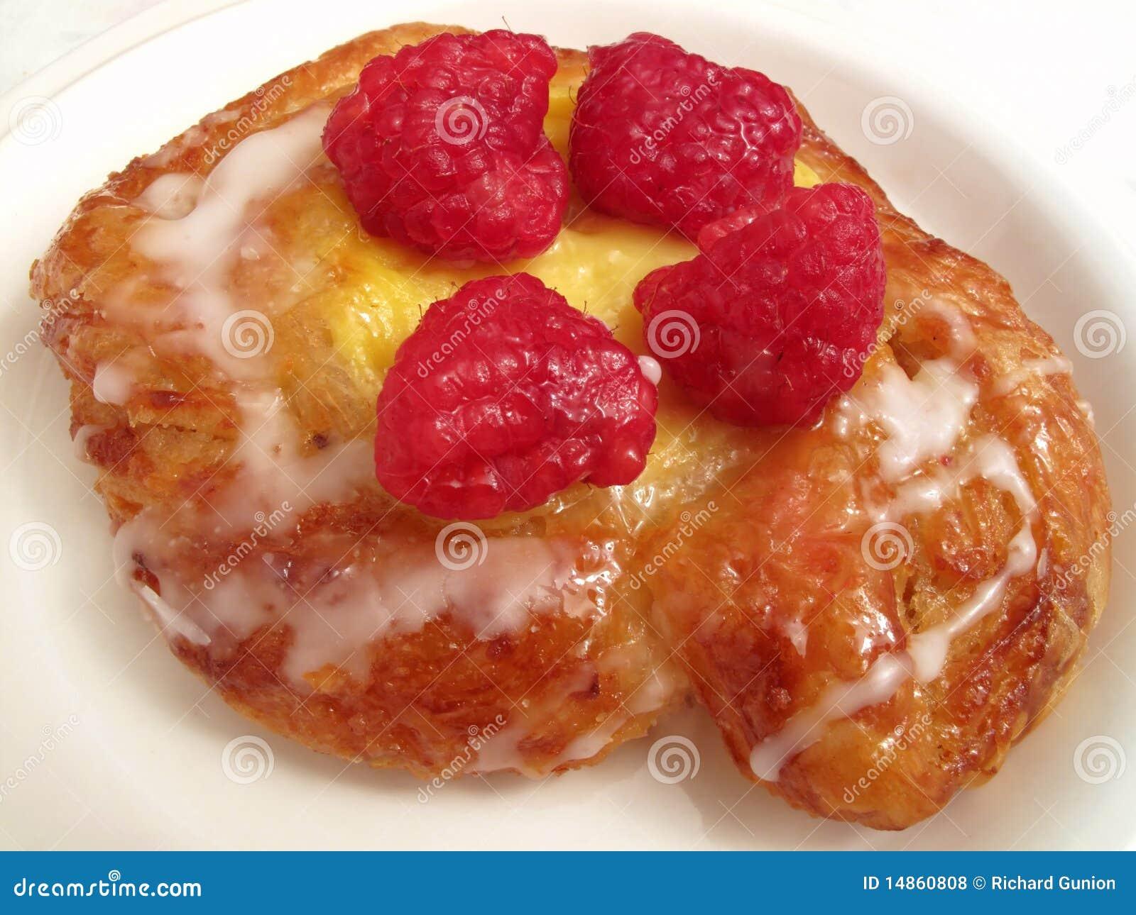 Cheese Raspberry Danish