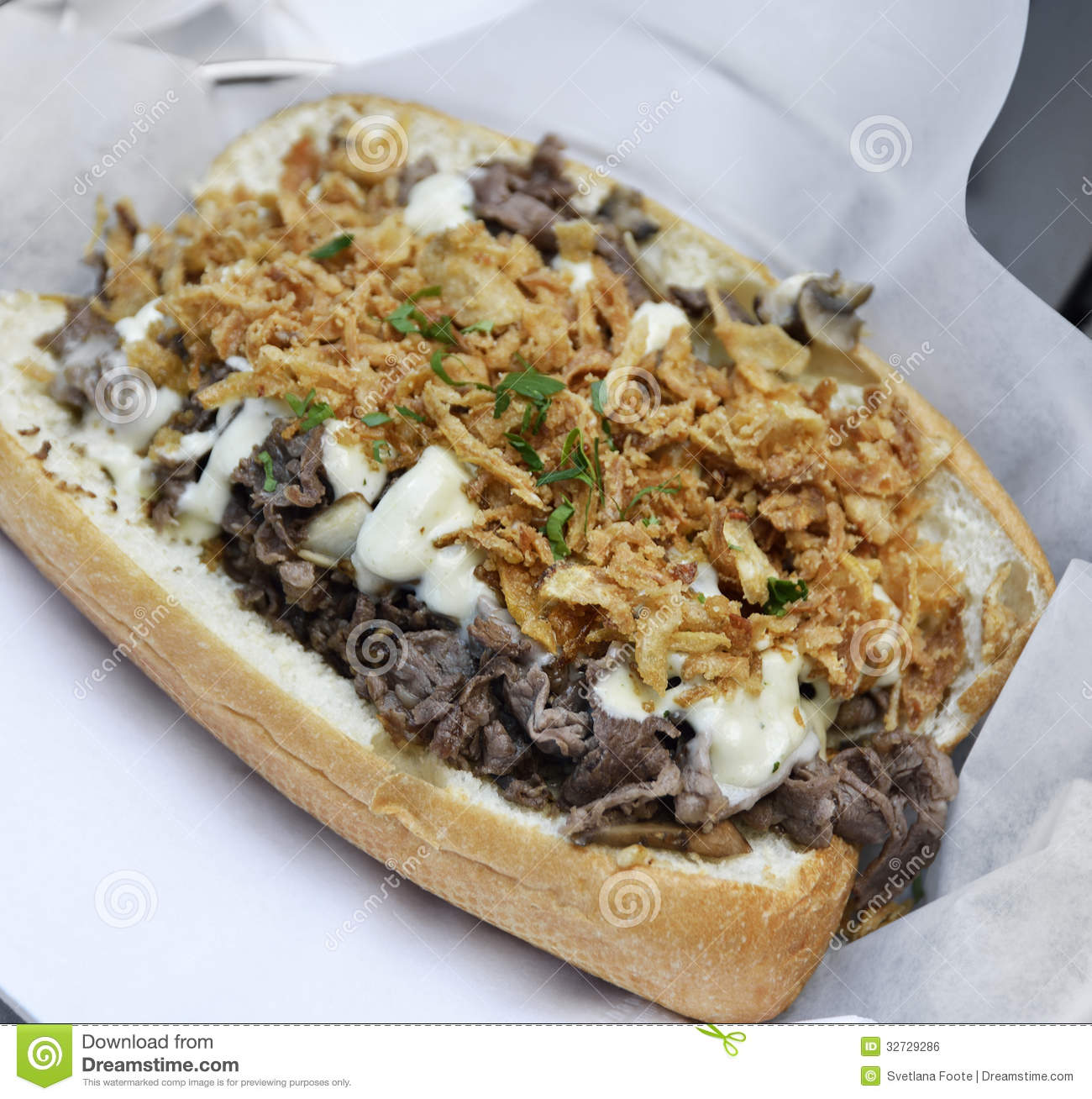 Steak And Cheese Sandwiches With Onions And Mushrooms ...