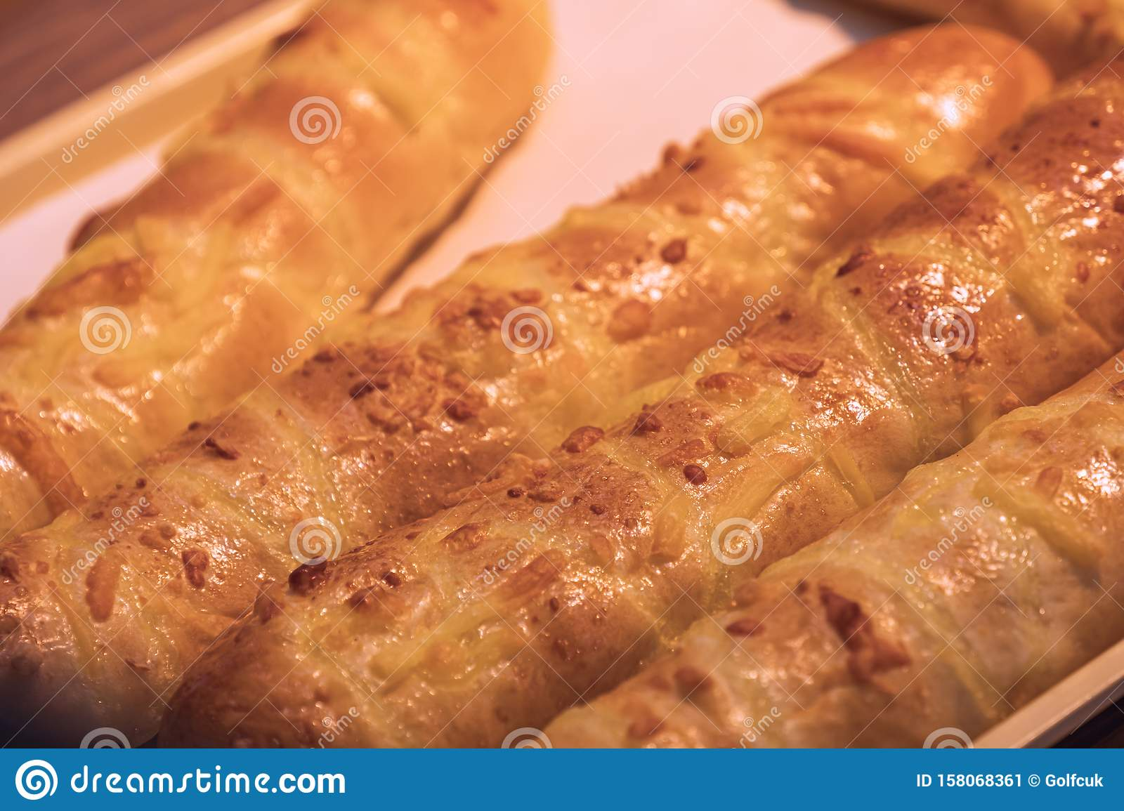 Cheese Stick Bread Stock Image Image Of Eating Cheddar 158068361