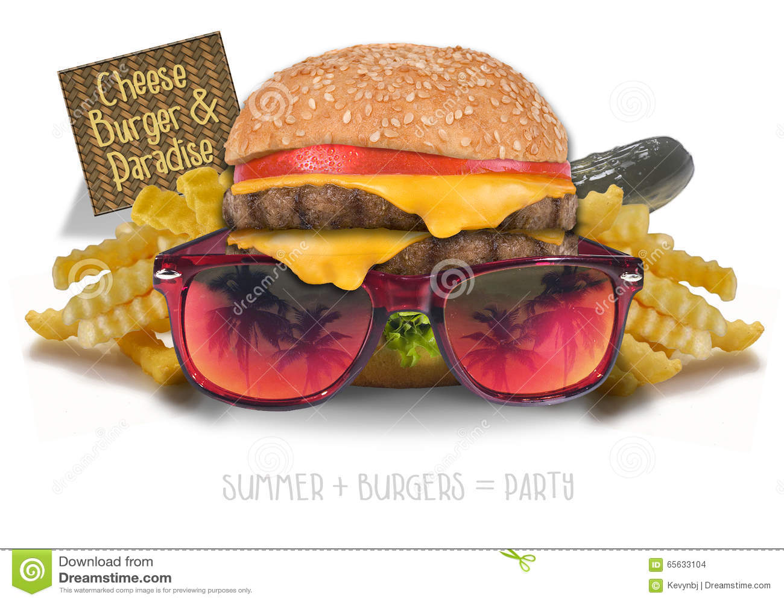 Cheeseburger dans le paradis