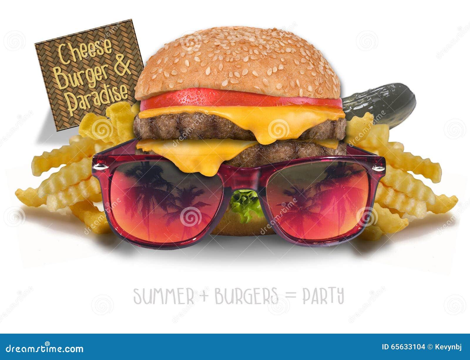 Cheeseburger en paraíso