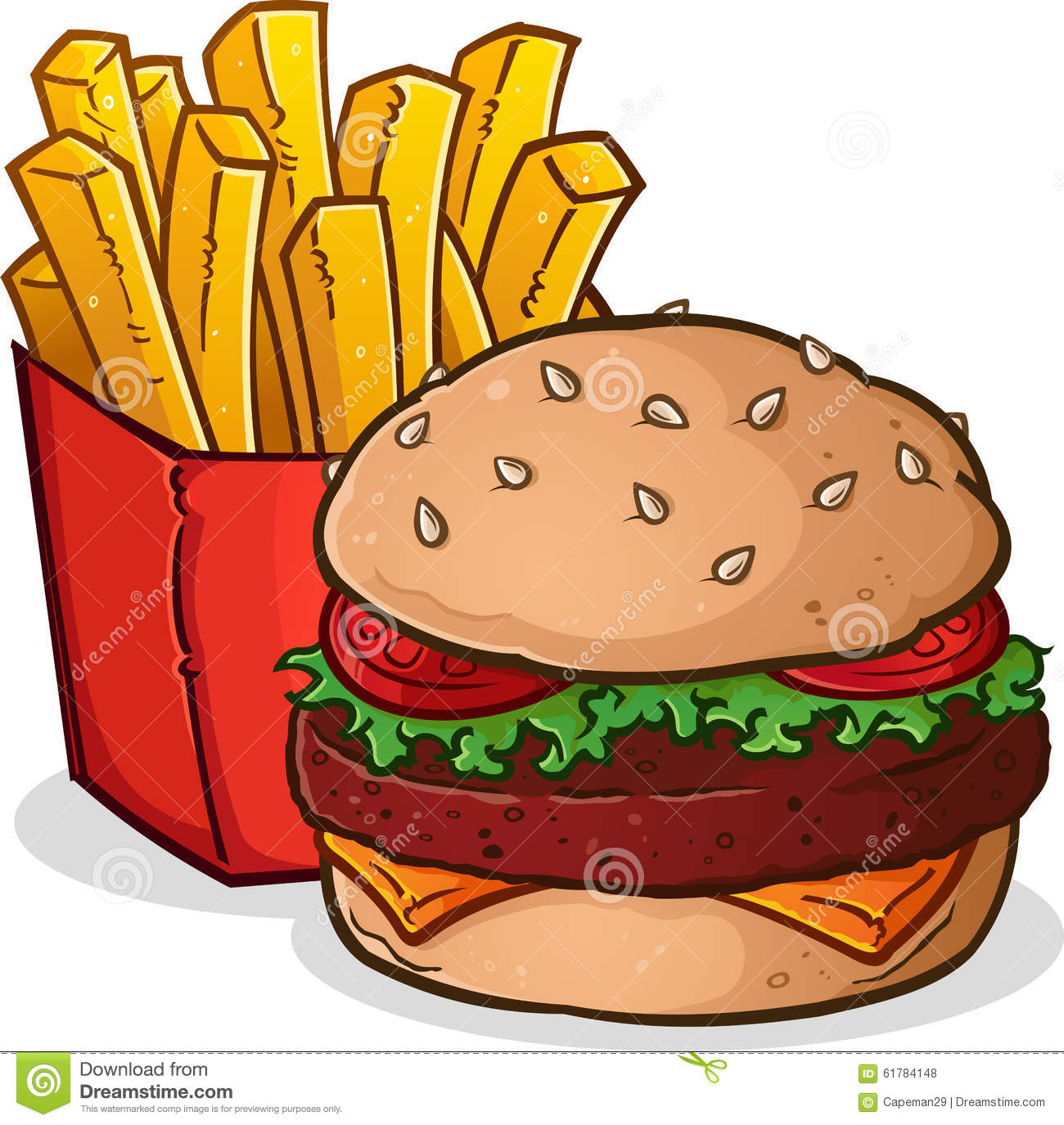 Cheeseburger Clipart | Chadholtz