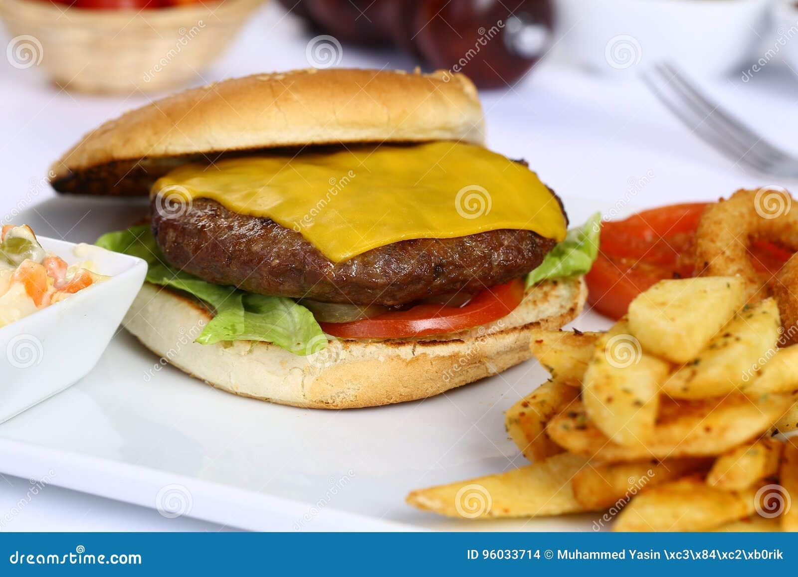 Cheeseburger i Francuza dłoniaki