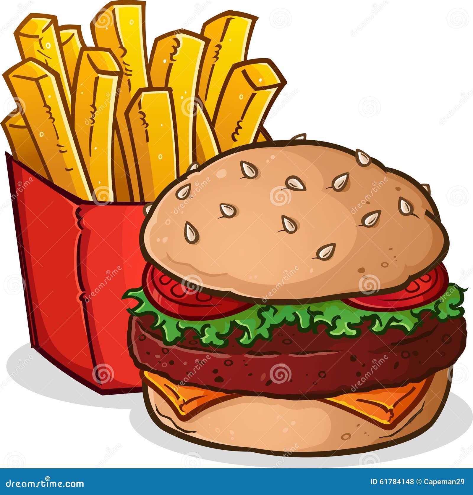 cheeseburger pommes friteskarikatur vektor abbildung national french fry day clipart national french fry day clipart