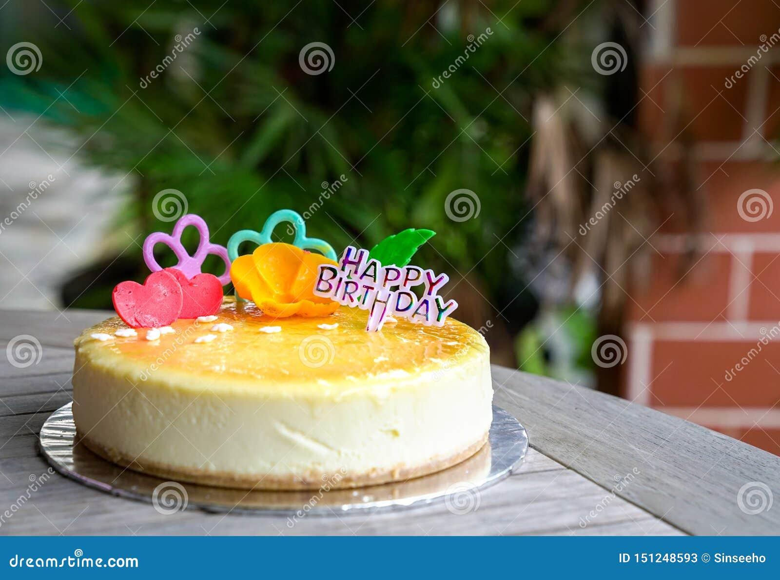 Cheesecake για τα γενέθλια