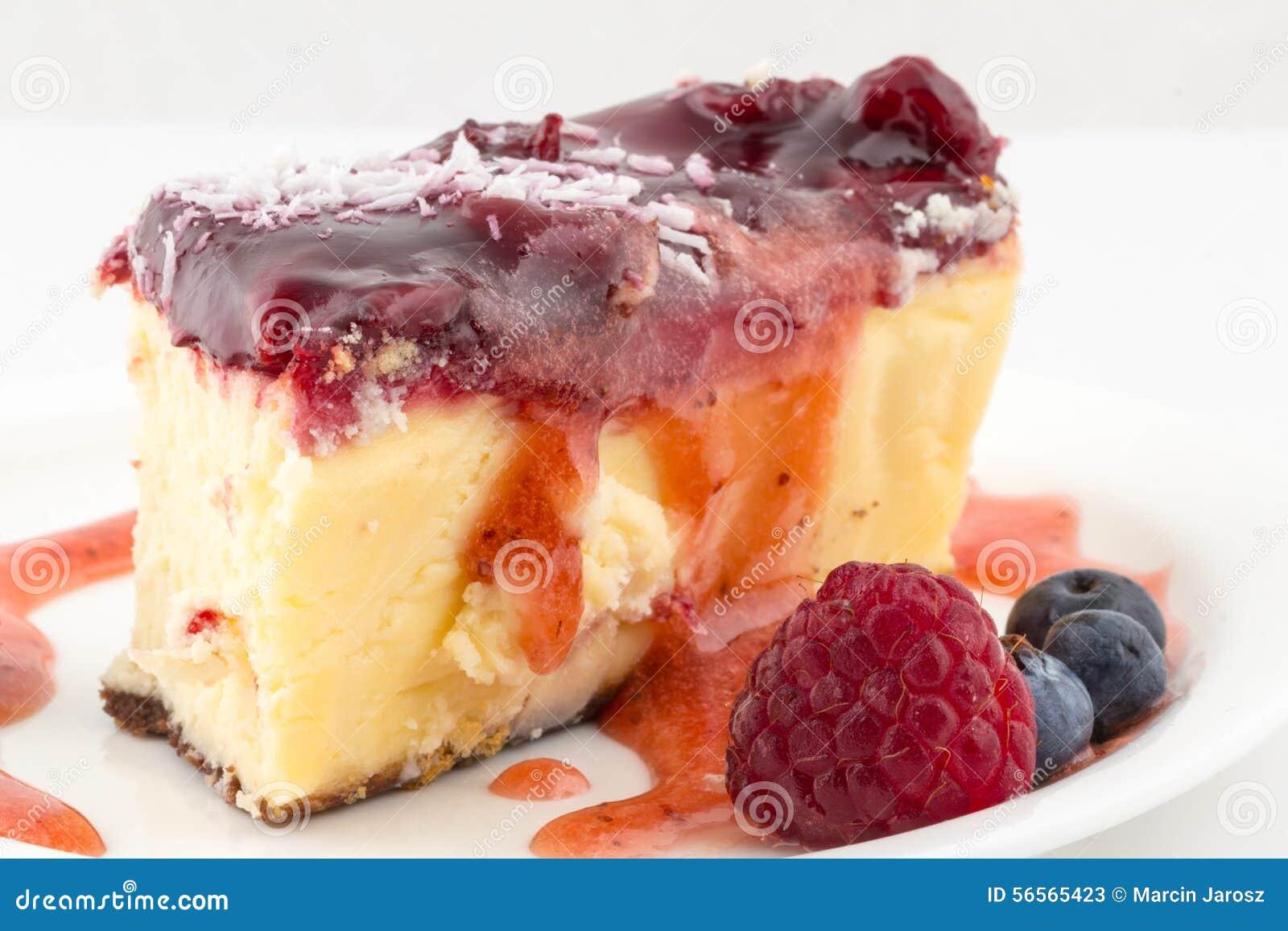 Download Cheesecake στοκ εικόνα. εικόνα από φάτε, επιδόρπιο, σπιτικός - 56565423