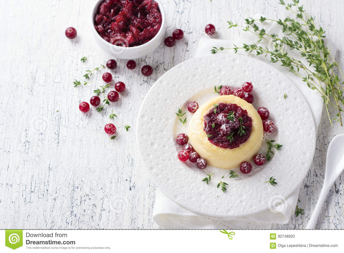 Phenomenal Cheesecake Cottage Cheese Pudding With Jam And Fresh Download Free Architecture Designs Intelgarnamadebymaigaardcom