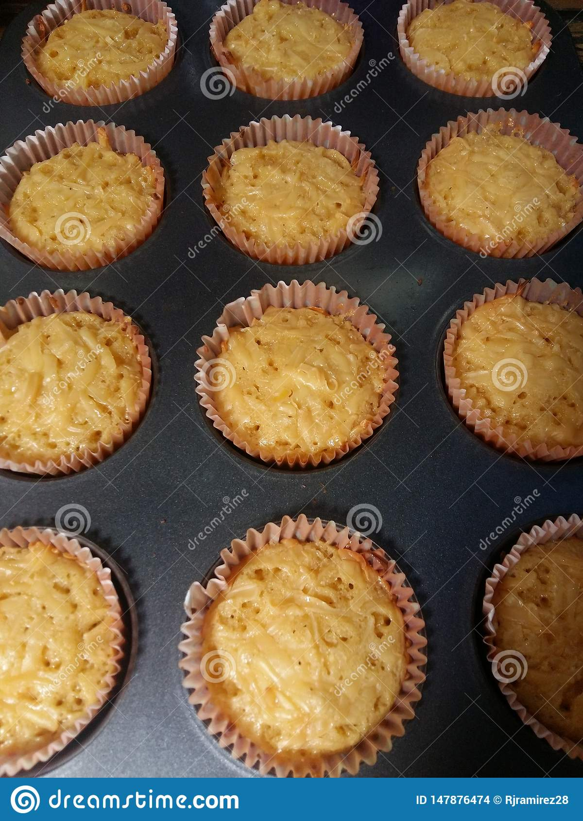 Cheesy cheese cupcakes