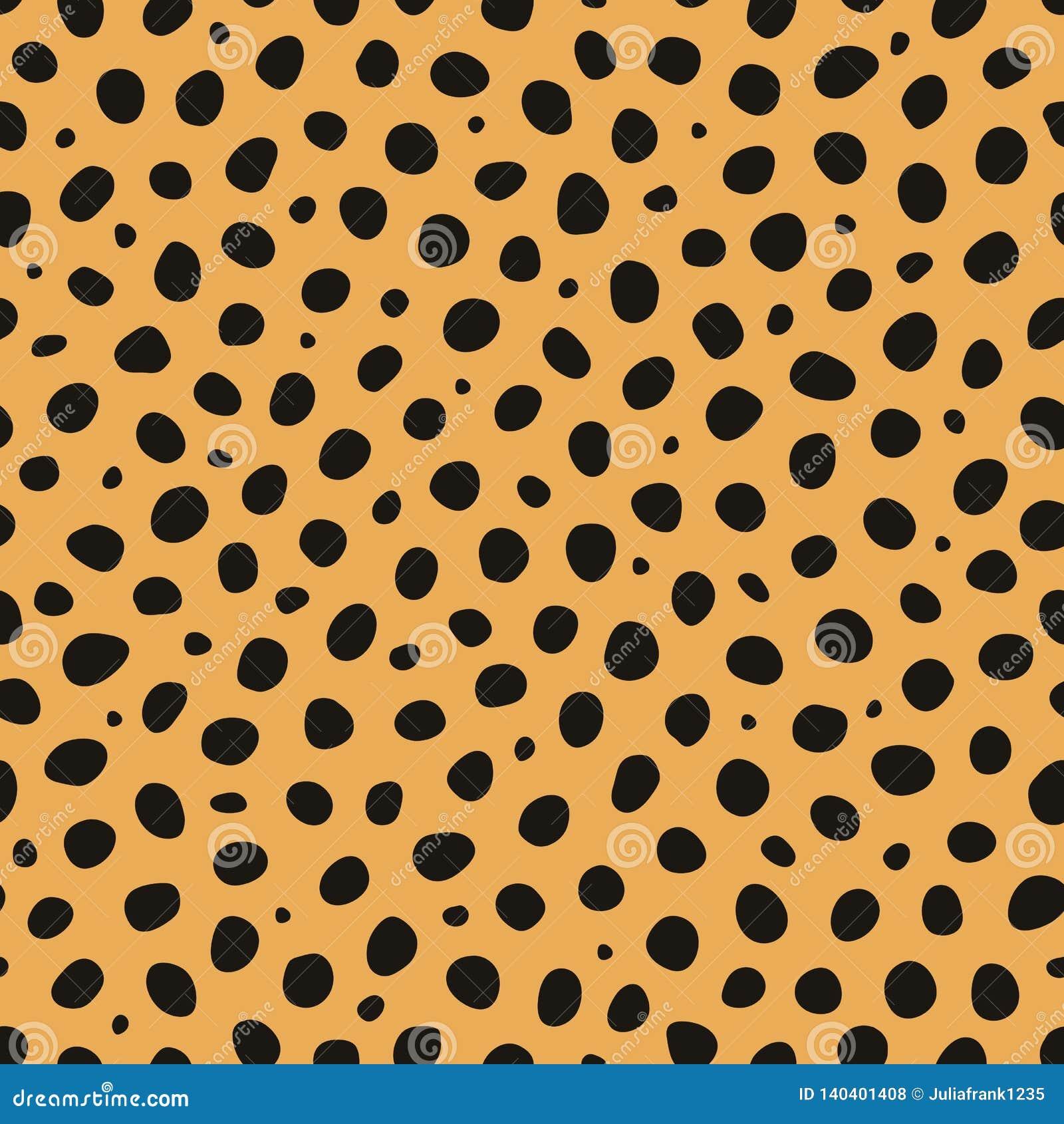 Cheetah Animal Print Vector Seamless Pattern Stock Vector ...