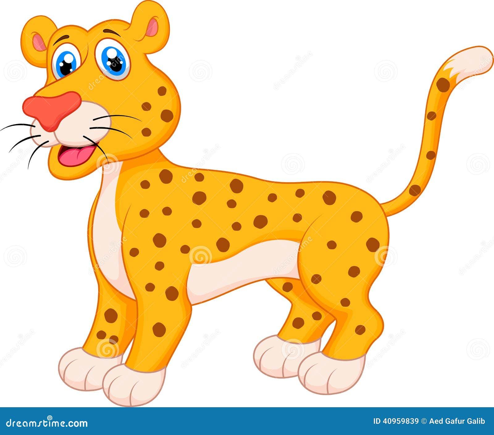 cute jaguar clipart - photo #47