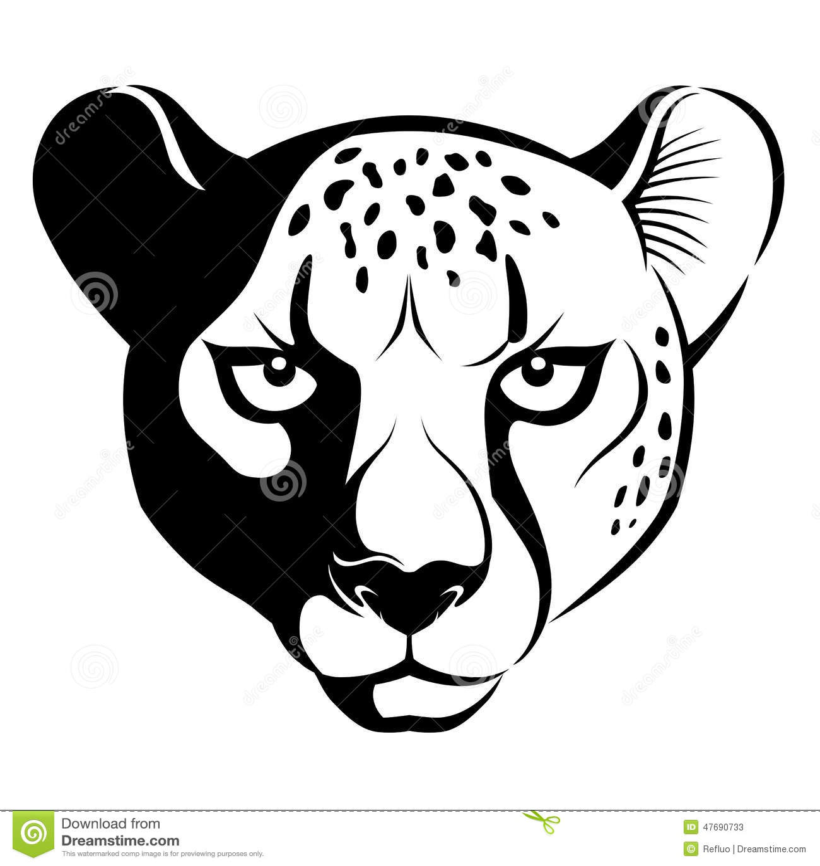 Cheetah Design Cake