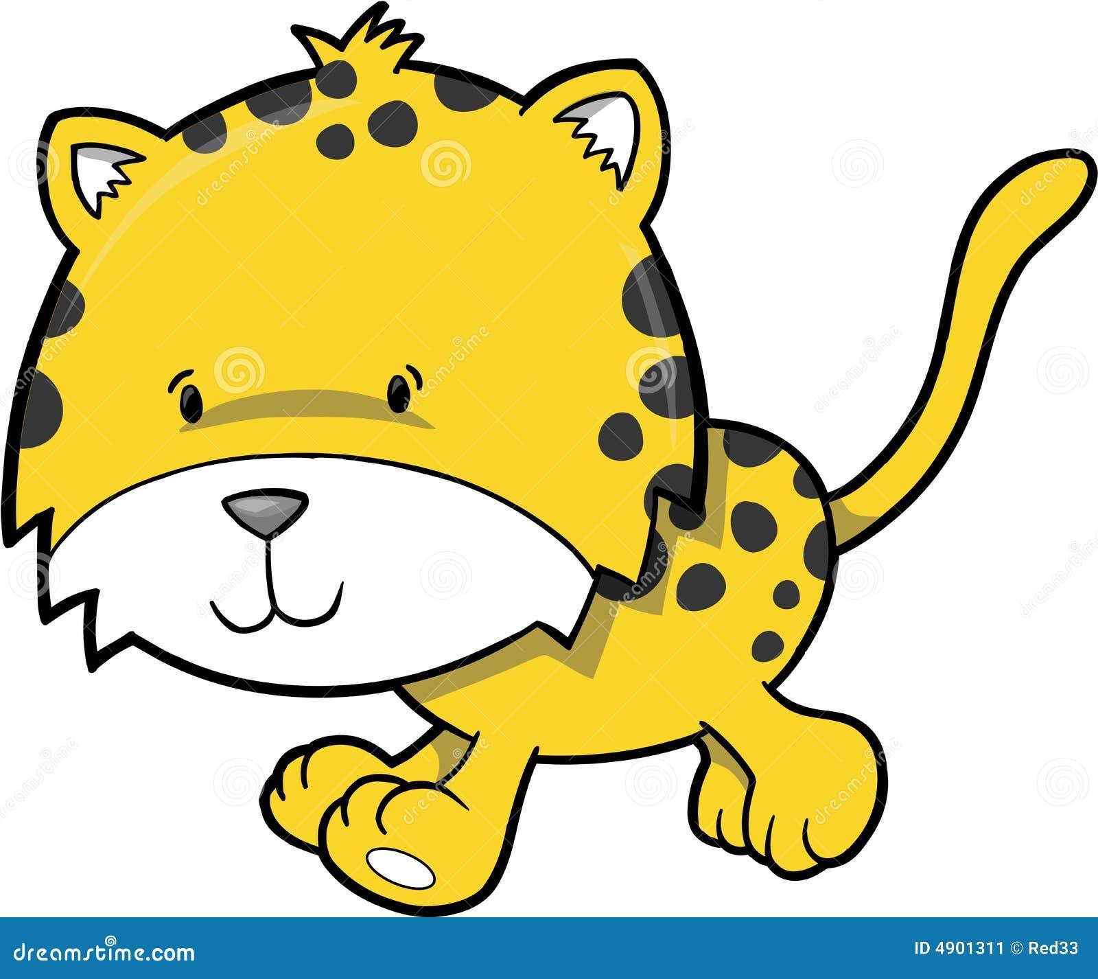 Cheetah Vector Illustration Stock Image - Image: 4901311