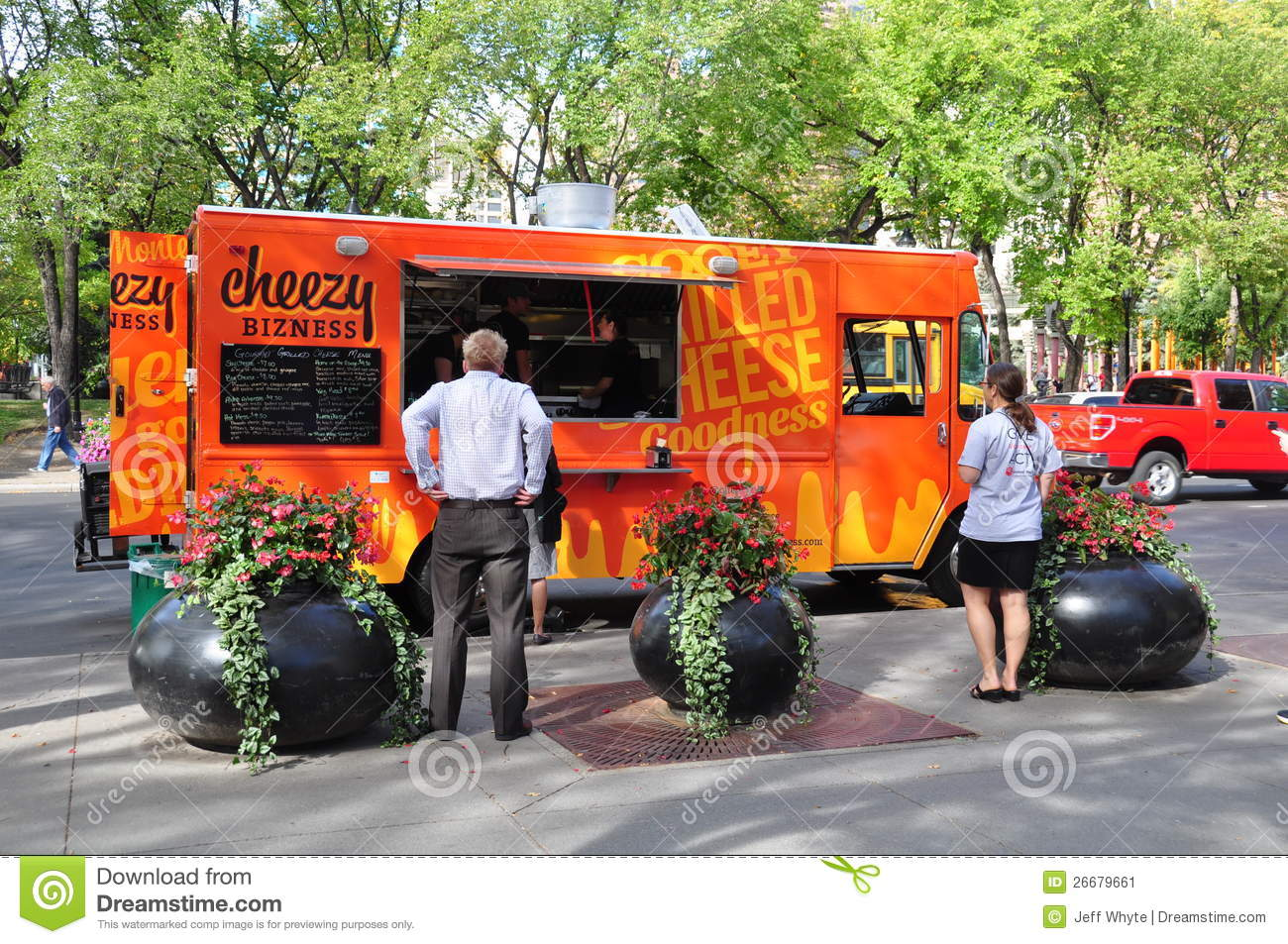 District Flames Food Truck