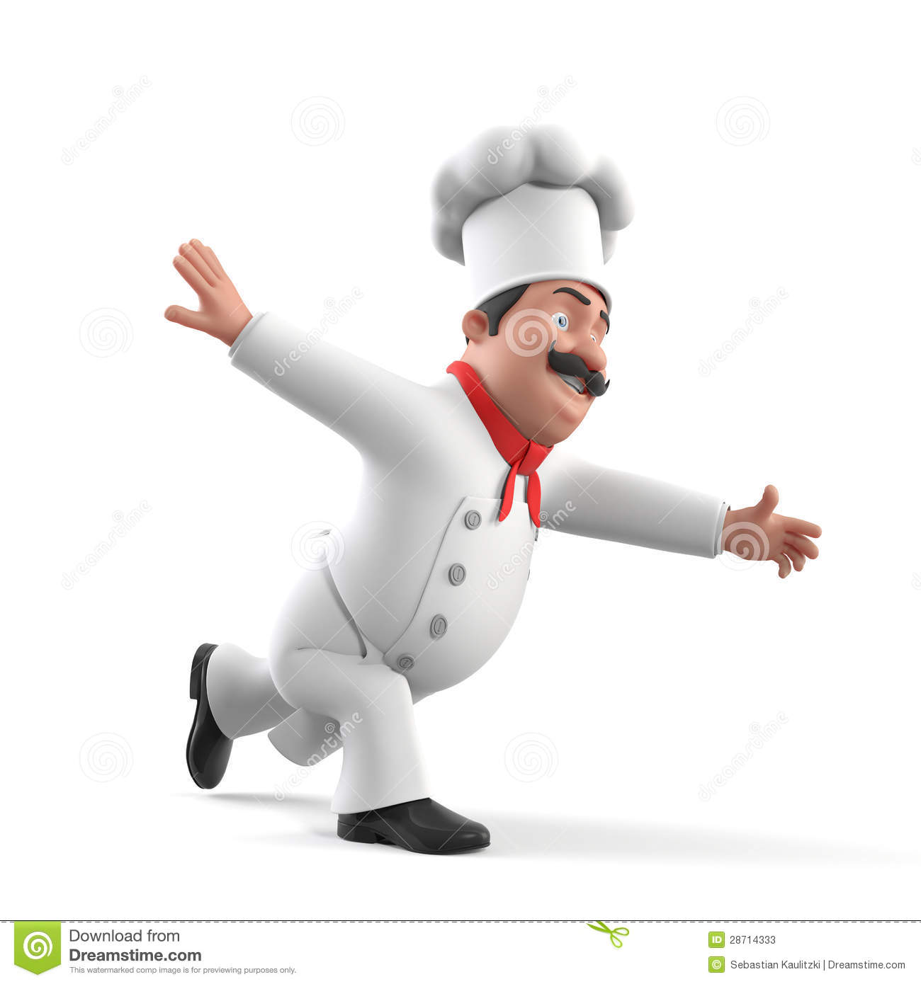 Chef de cuisine illustration stock illustration du for Job cuisinier