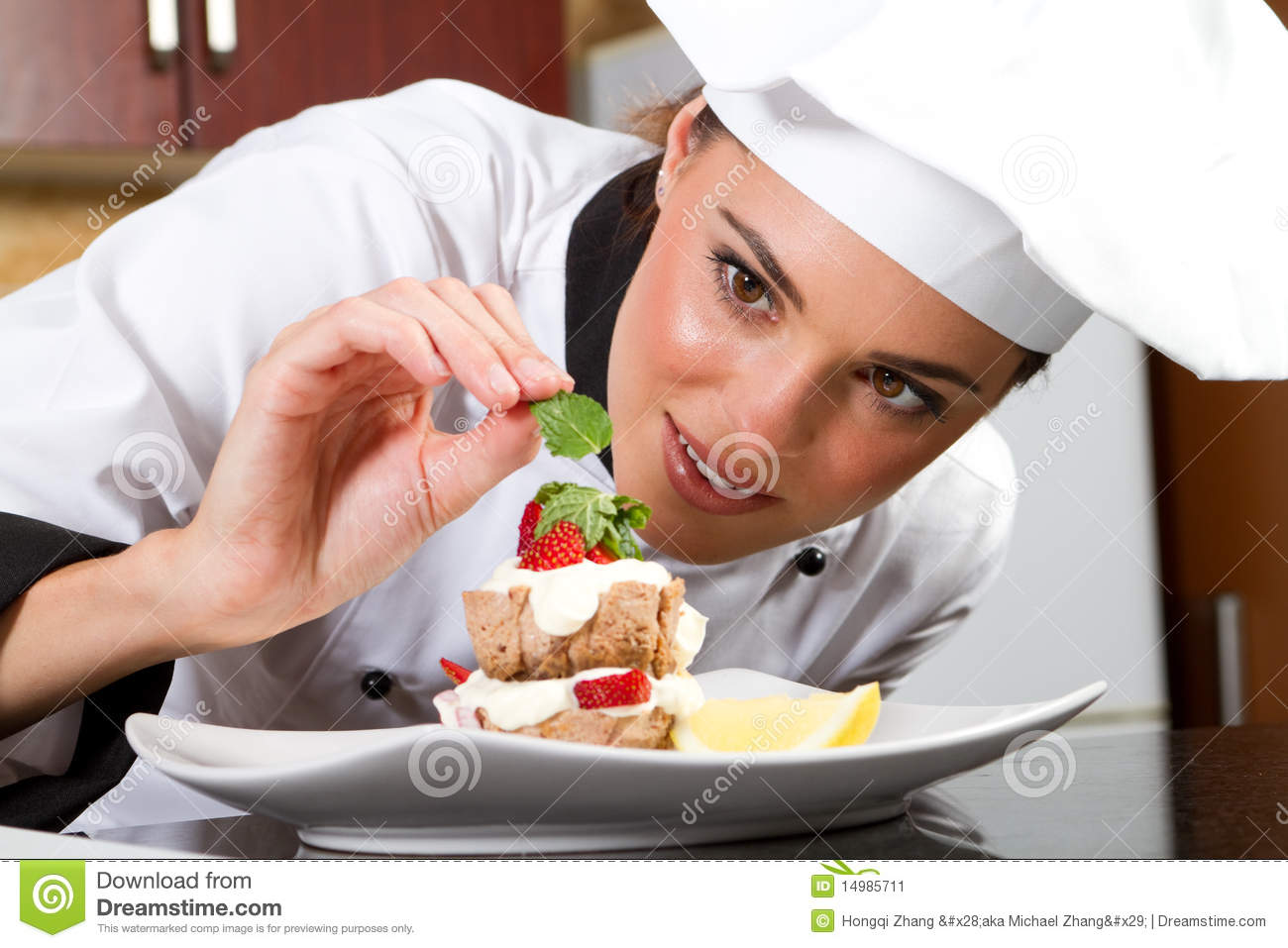 chef garnish dish stock image image 14985711 clipart sound bytes clipart sound animation and graphics