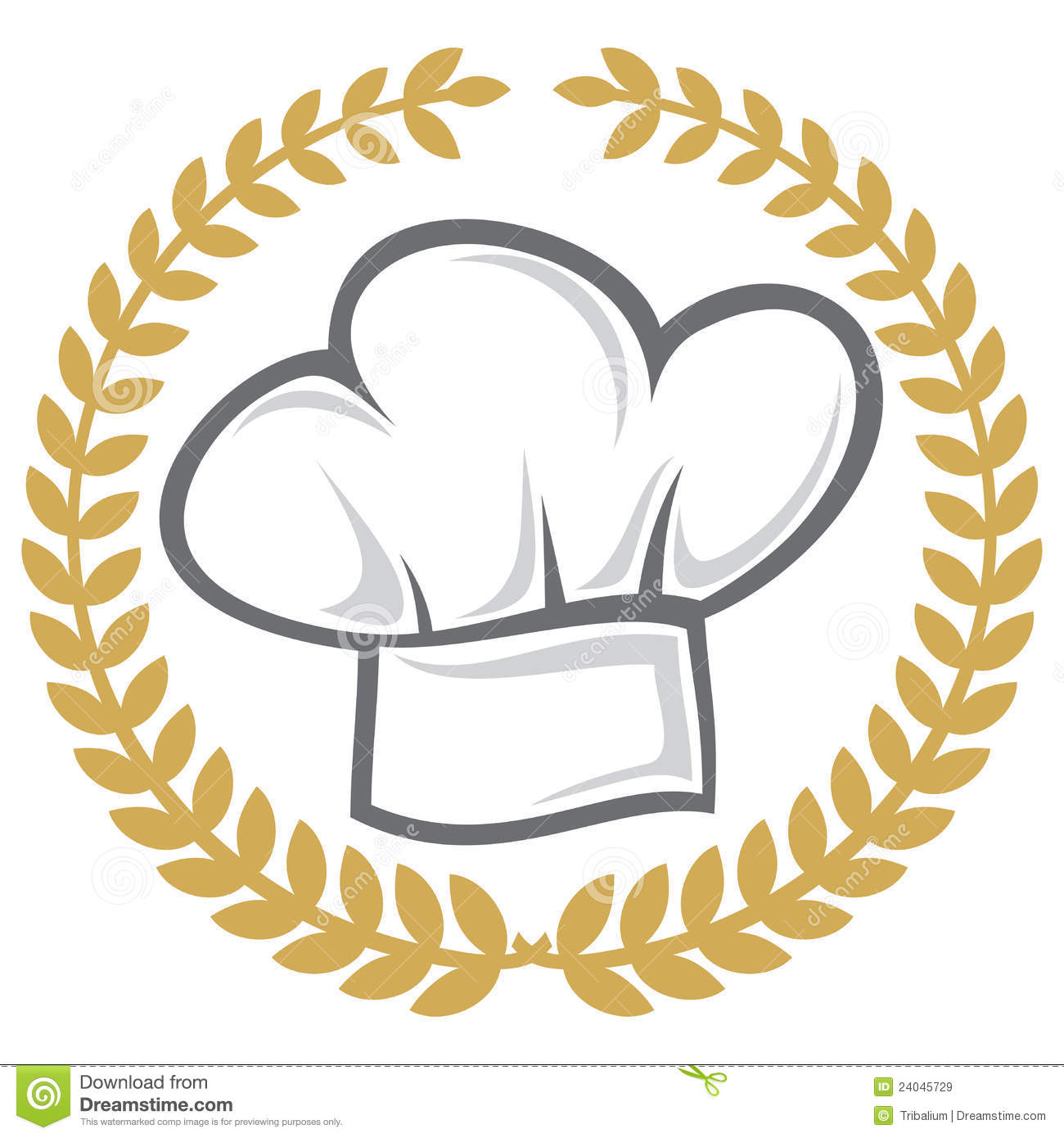 Chef hat stock vector. Illustration of gourmet 45941f83ddbe