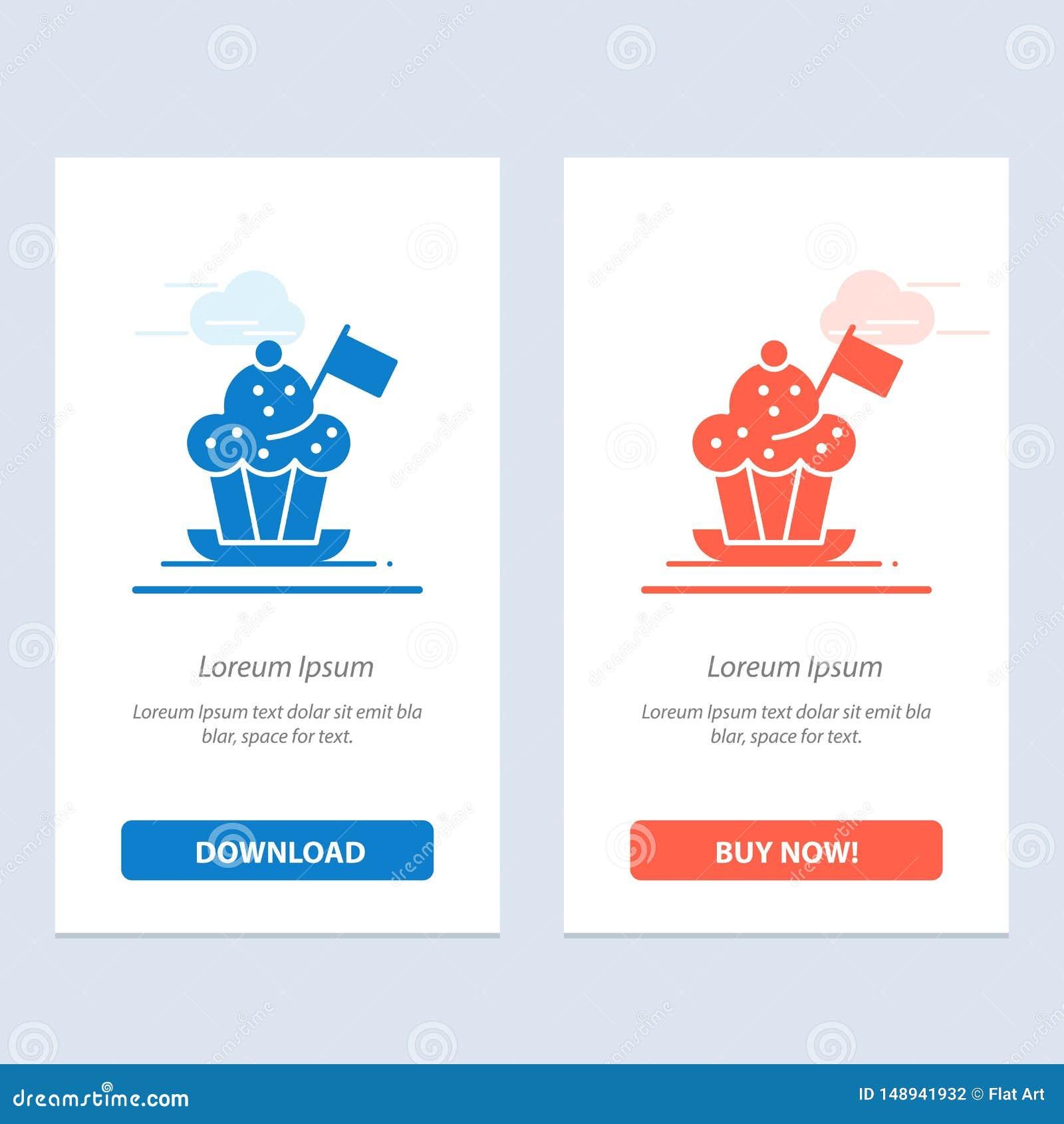 Chef, Chef Hat, Kocher, Kocher-Hut, Flaggen-Blau und rotes Download und Netz Widget-Karten-Schablone jetzt kaufen
