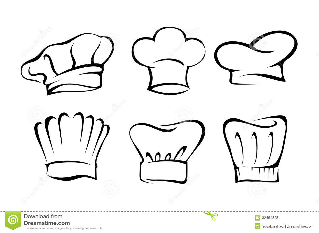 Real Chefs Hat Chef hat set