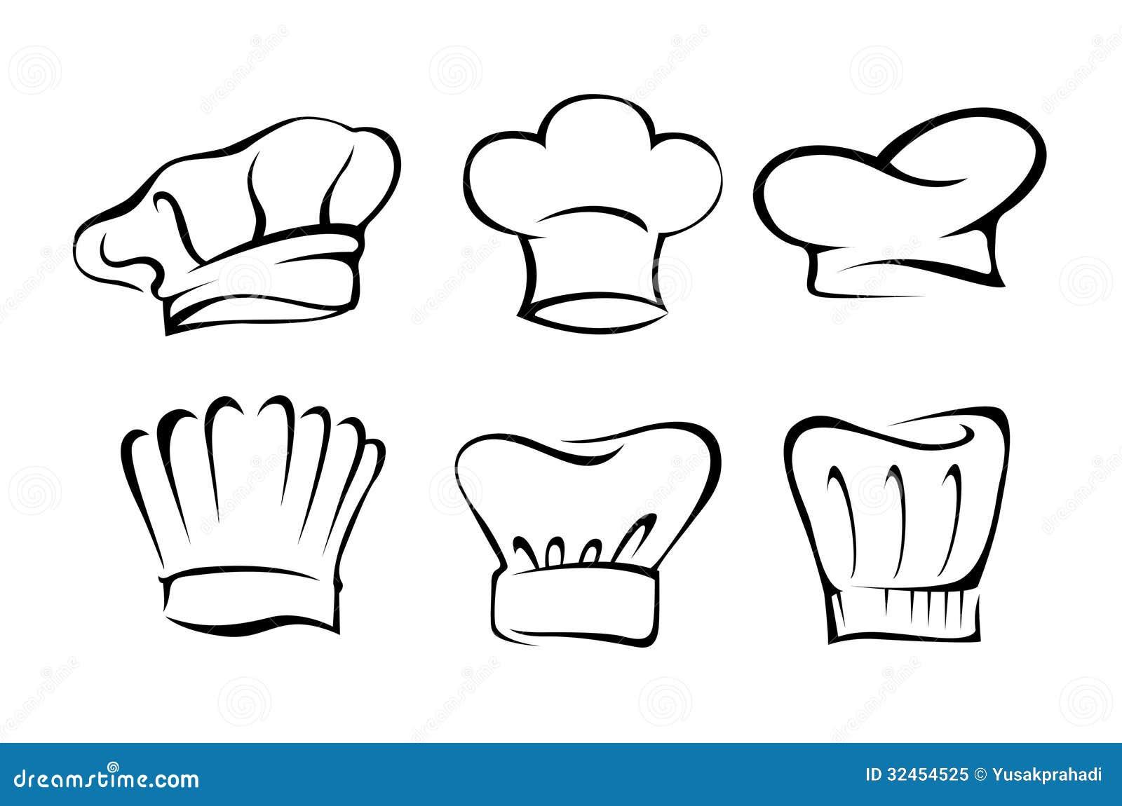 Chef Hat Set Royalty Free Stock Photo - Image: 32454525