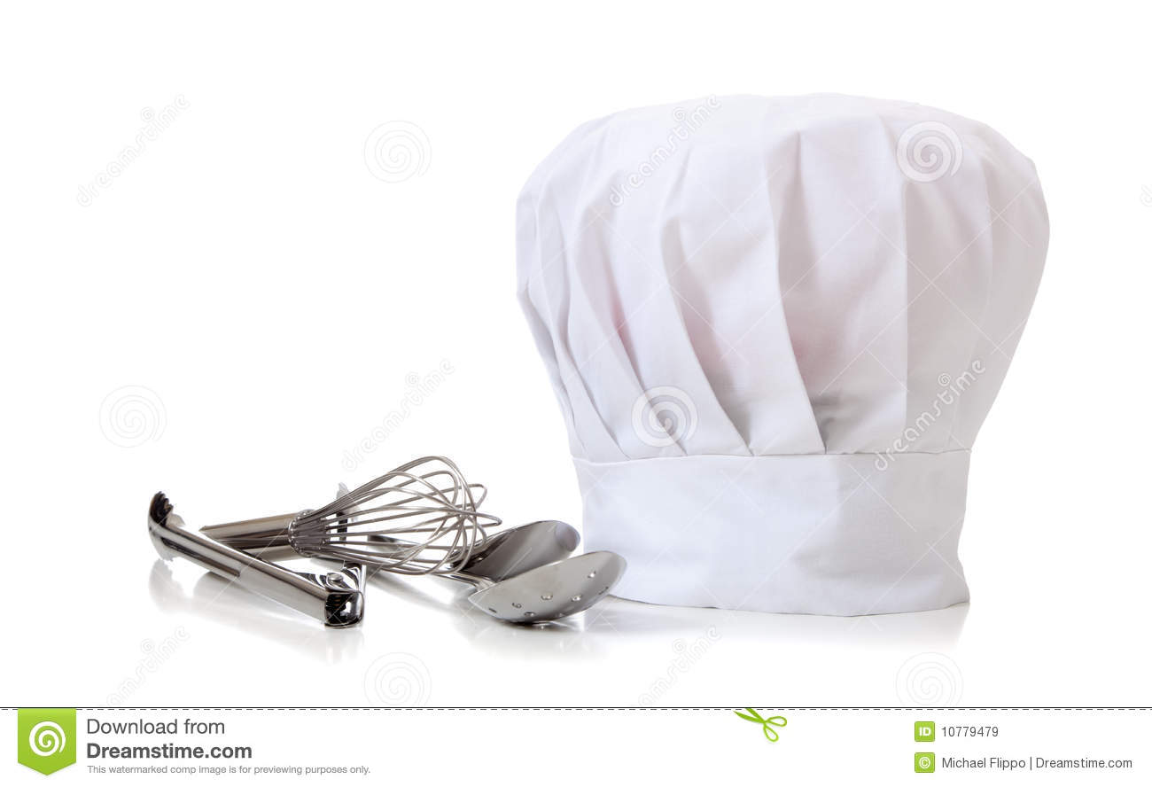 Real Chefs Hat Chef Hat and utensils