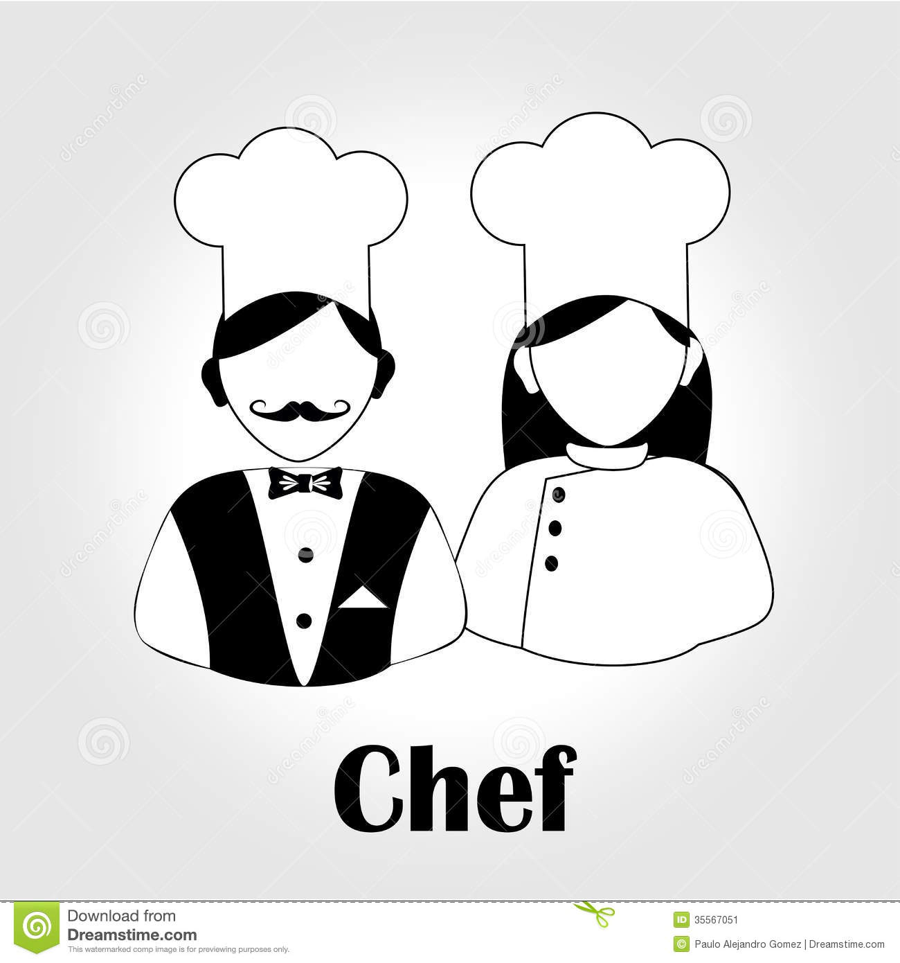 Chef Icon Vector Images & Pictures - Becuo: becuo.com/chef-icon-vector