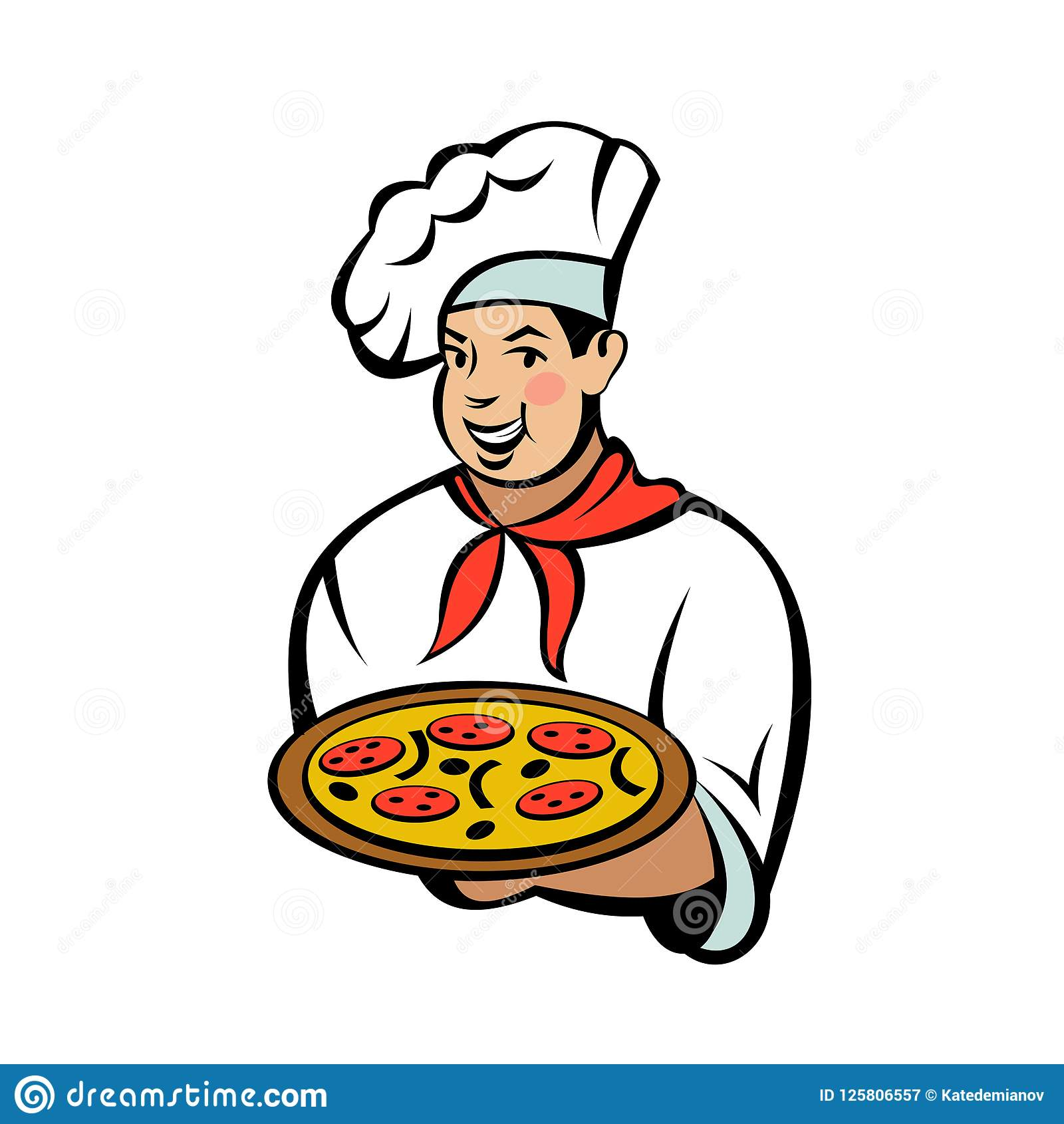 Fabricant Italien De Cuisine chef italien le fabricant de pizza prépare une pizza pays de