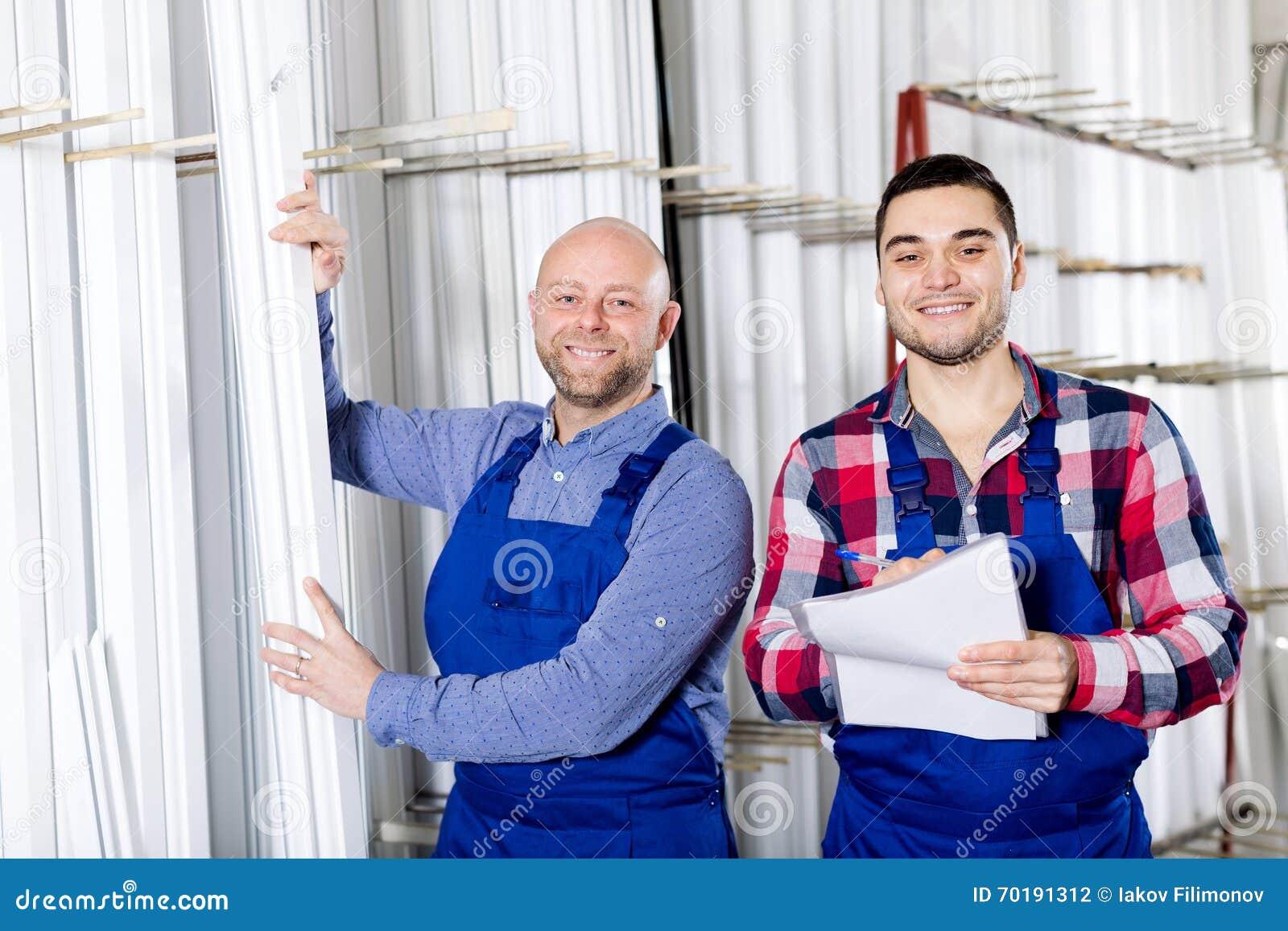 Chef på PVC-fönsterfabriken