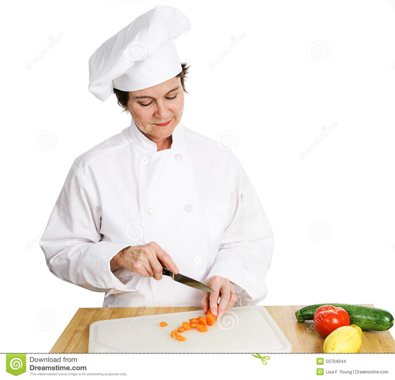 Chef Preparing Vegetables Stock Photo - Image: 50794044