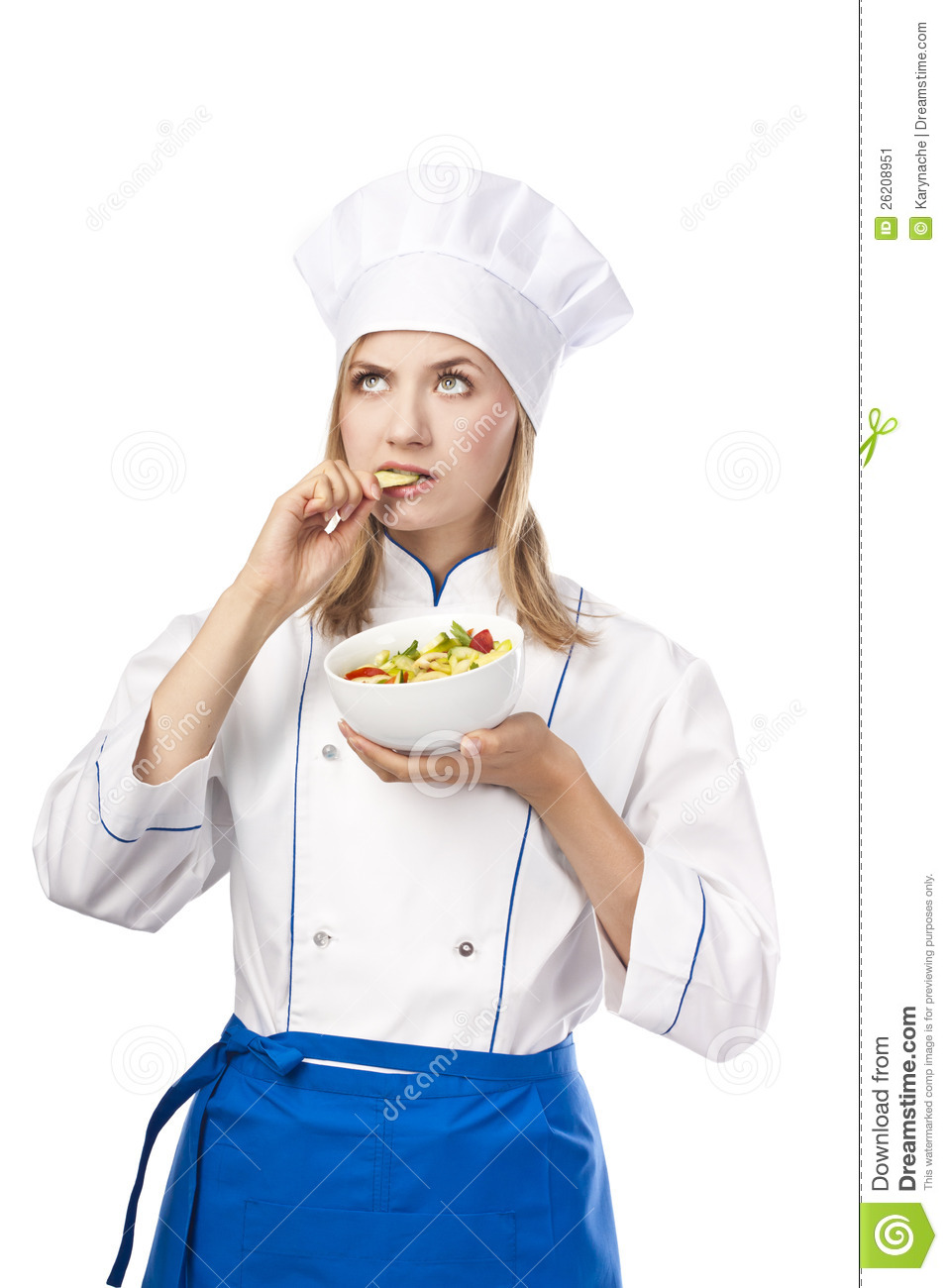 Chef Taste Food Stock Image Image 26208951