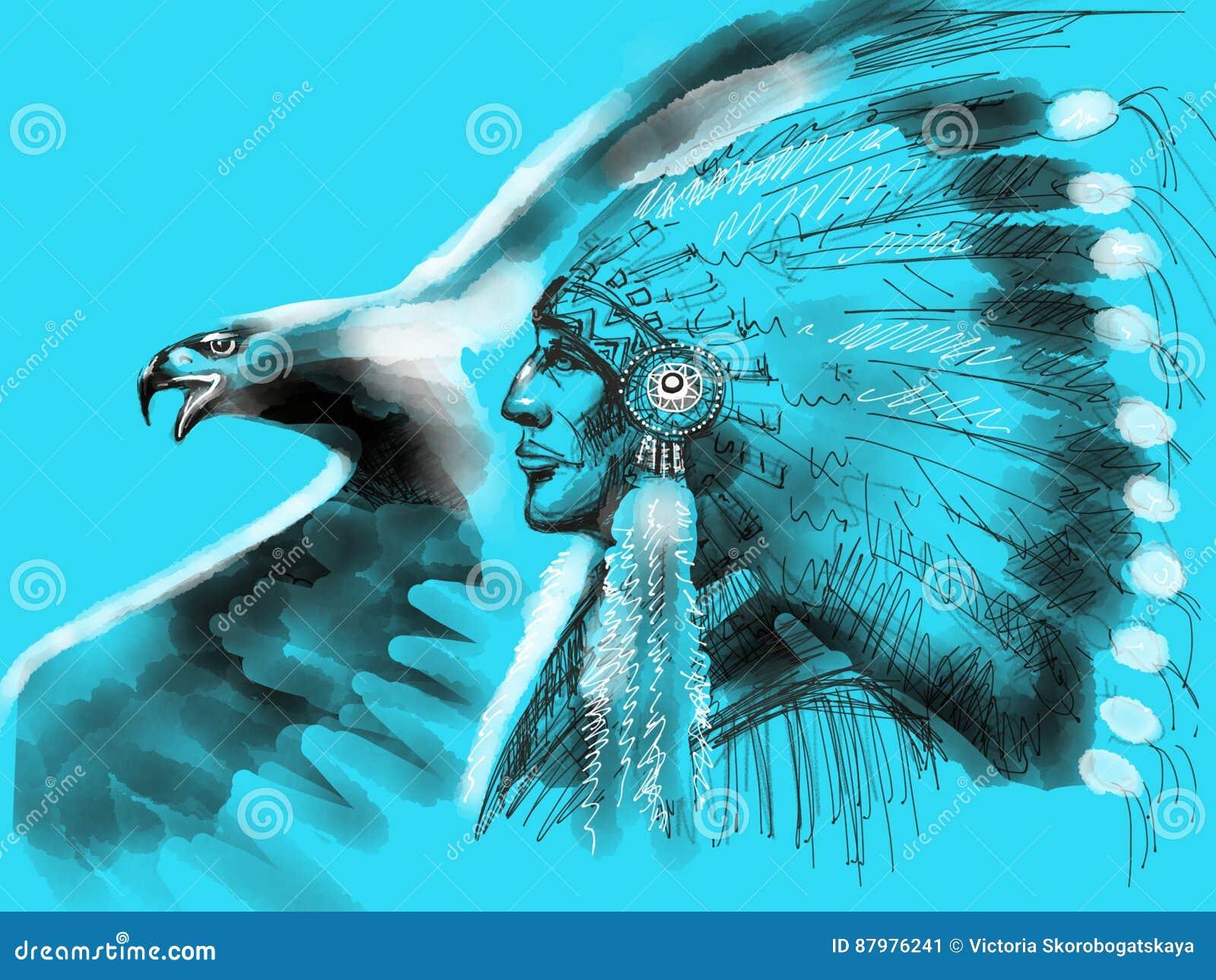 Chefe do nativo americano