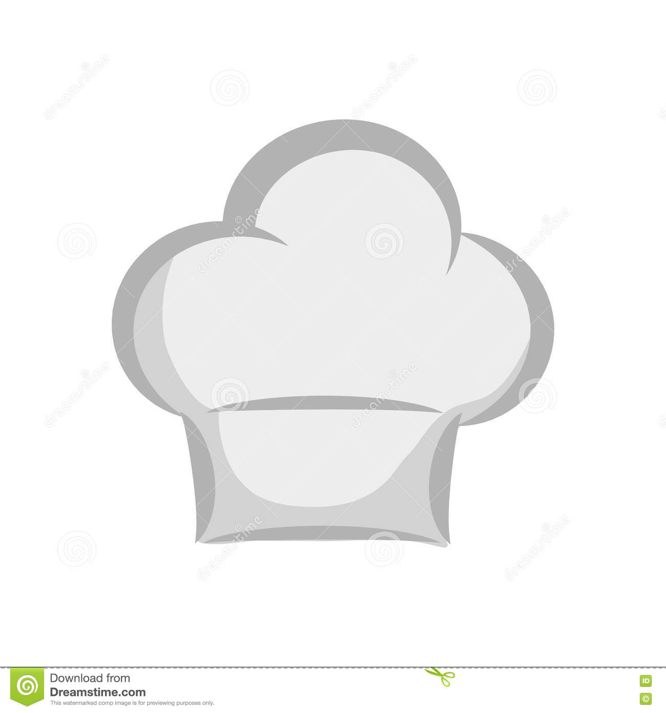 Chefs Hat Icon. Kitchen And Menu Design. Vector Graphic Part 92