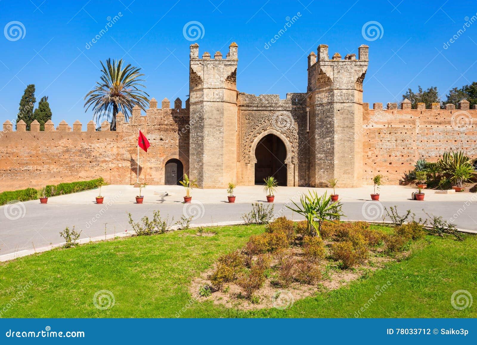 Chellah w Rabat