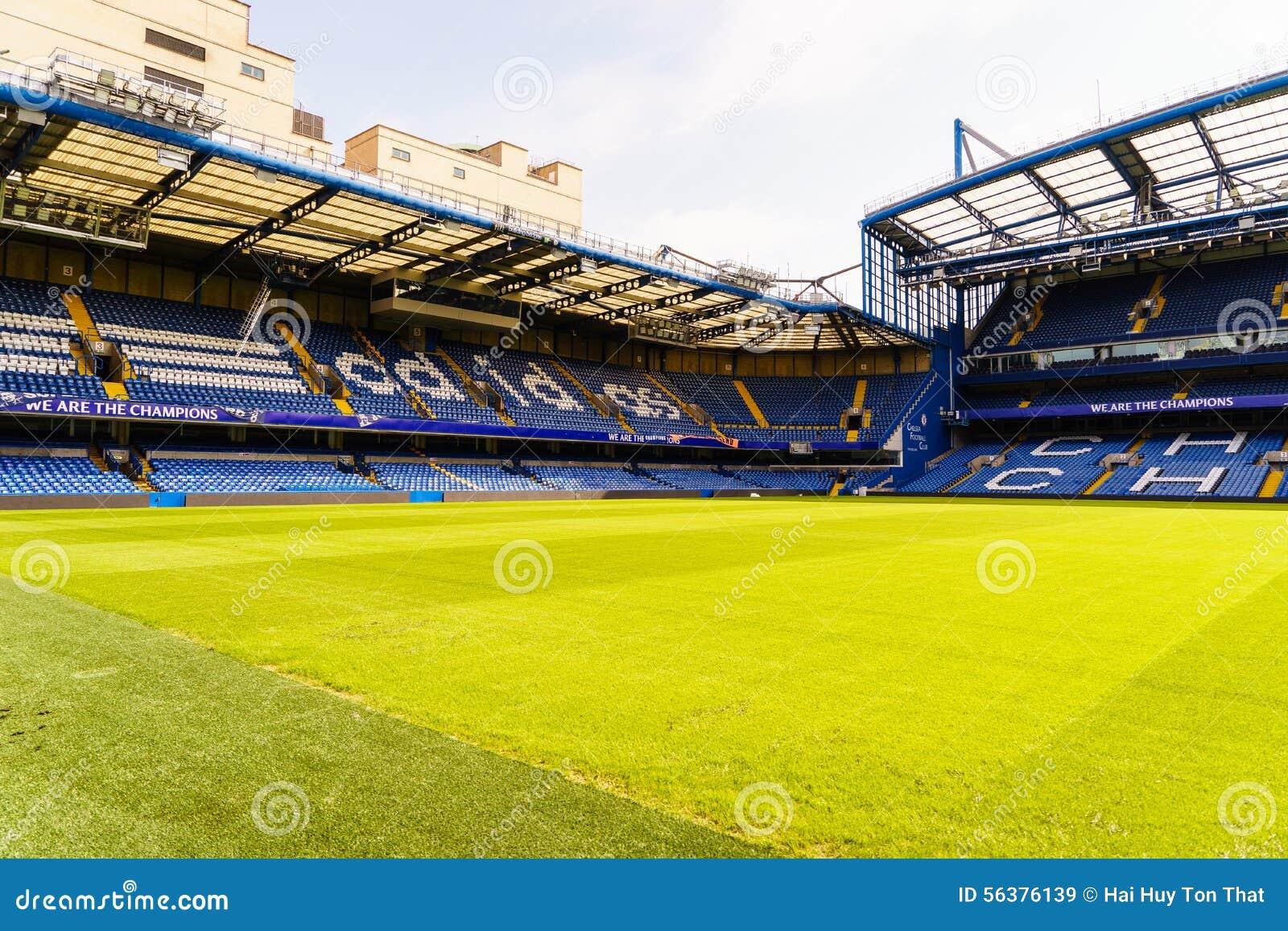 Chelsea FC Stamford Bridge Stadium Editorial Stock Image
