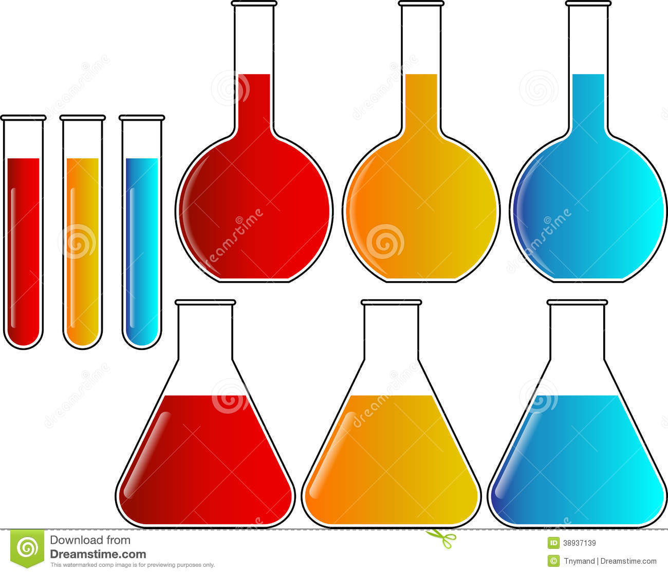 clipart test tubes and beakers - photo #44