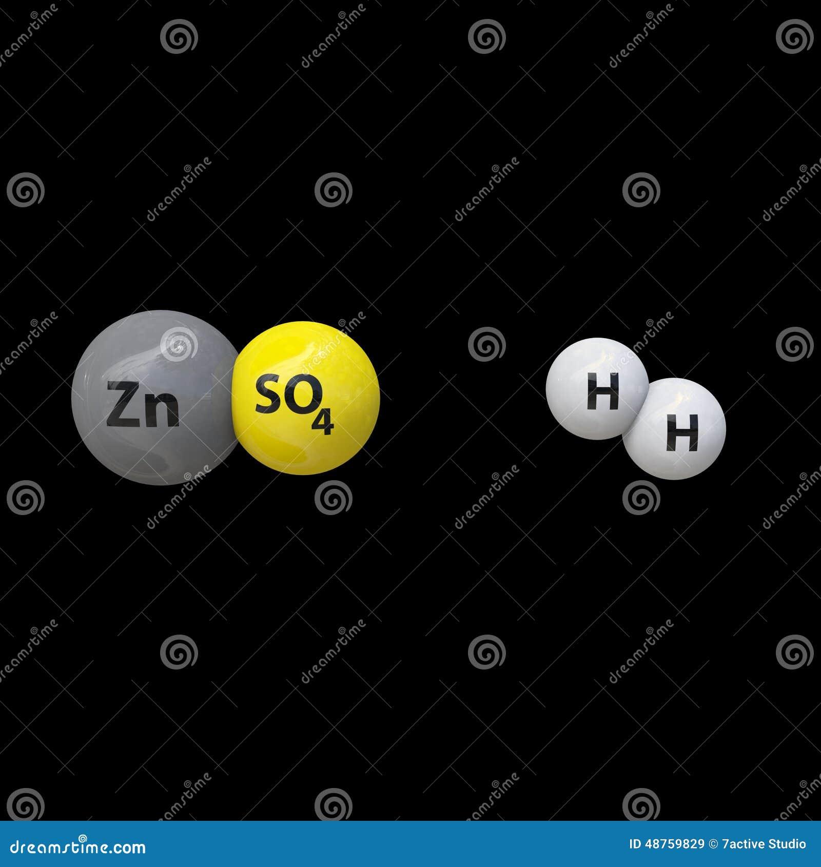 Chemical Bonds Stock Illustration Illustration Of Form 48759829