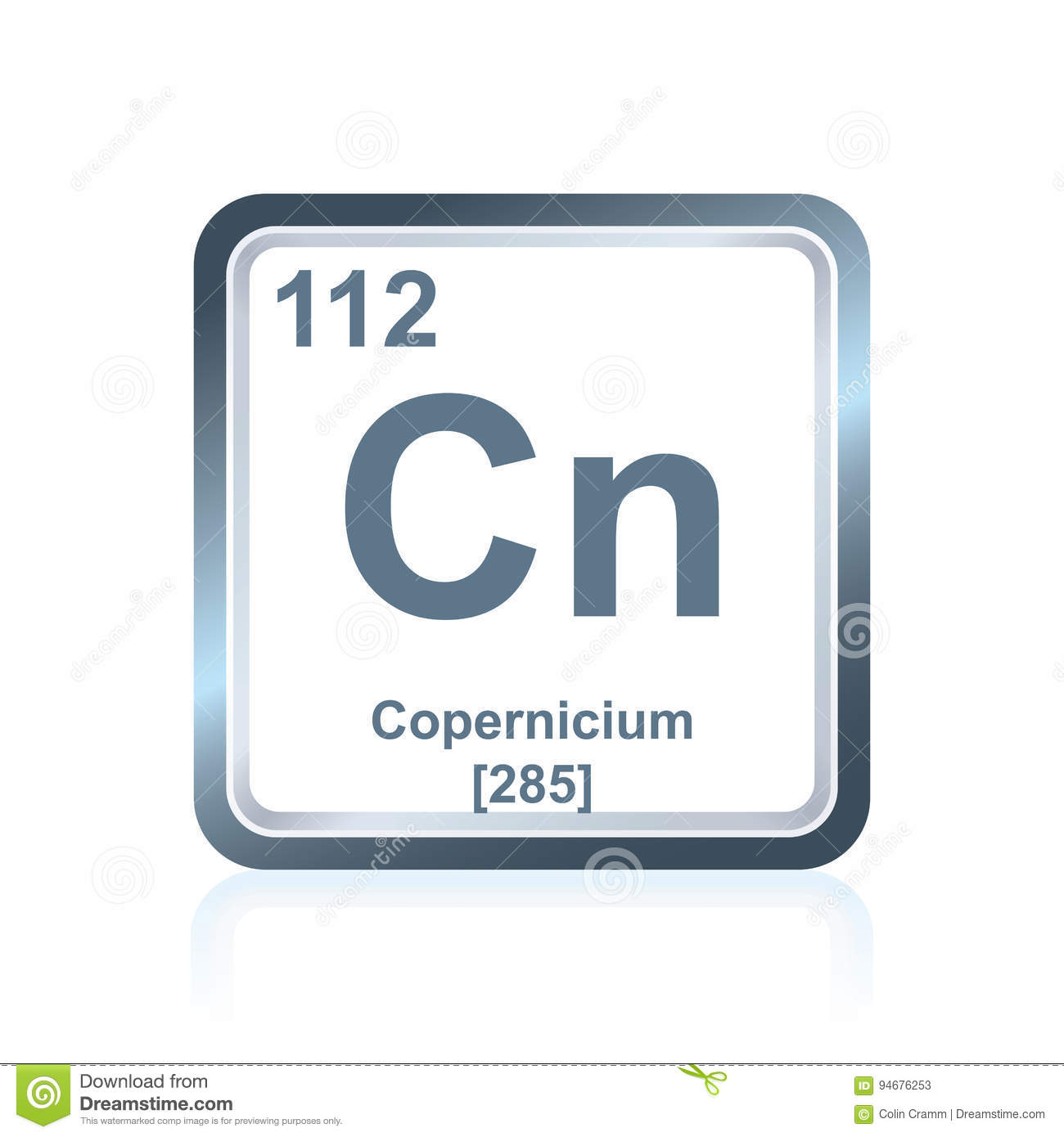Chemical element copernicium from the periodic table stock royalty free illustration download chemical element copernicium from the periodic table gamestrikefo Image collections