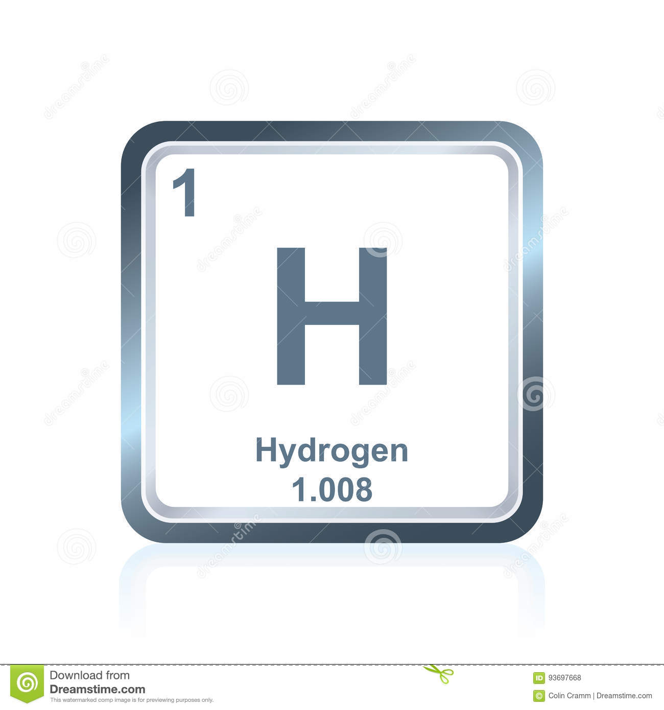 Chemical element hydrogen from the periodic table stock vector royalty free vector download chemical element hydrogen from the periodic table gamestrikefo Choice Image