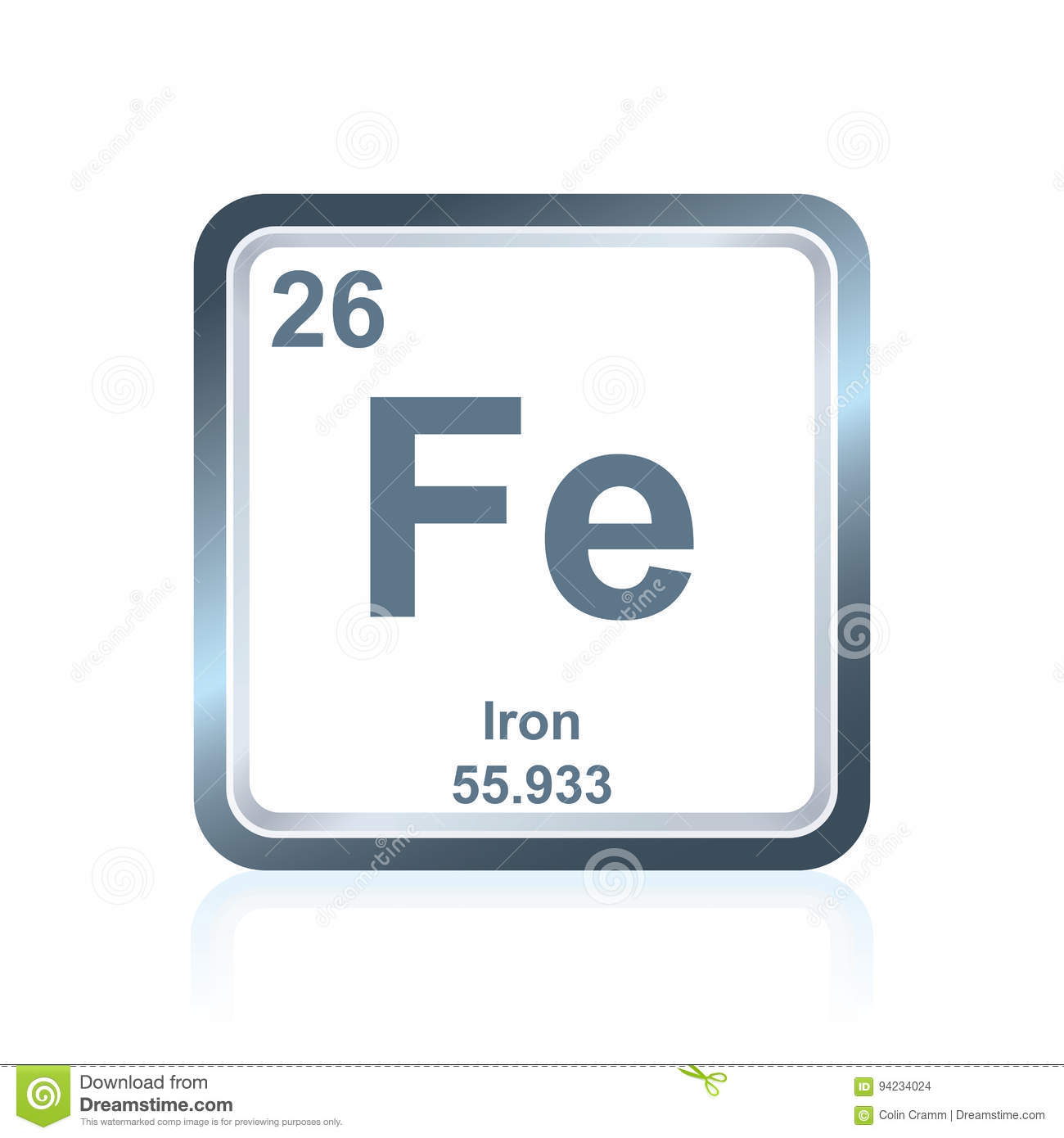Iron symbol in periodic table image collections periodic table chemical element iron from the periodic table stock illustration chemical element iron from the periodic table gamestrikefo Choice Image