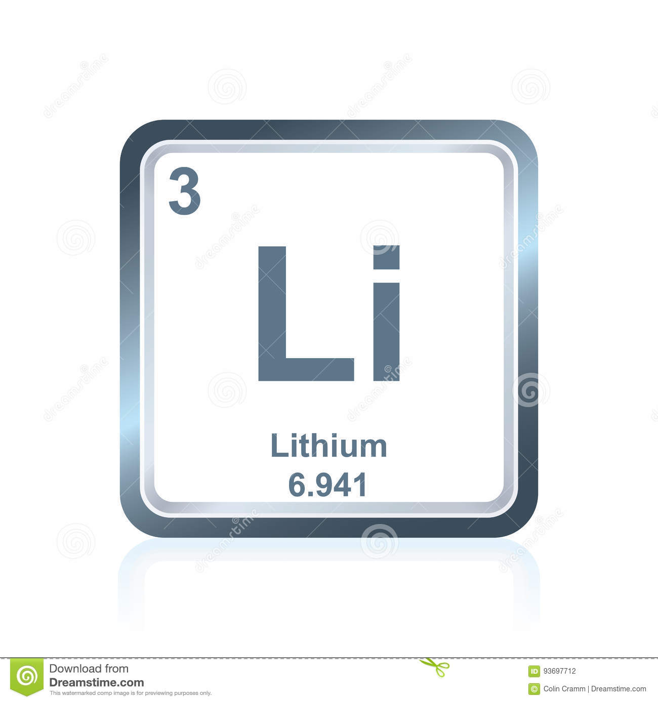 Periodic table li choice image periodic table images chemical element lithium from the periodic table stock vector royalty free vector download chemical element lithium gamestrikefo Image collections