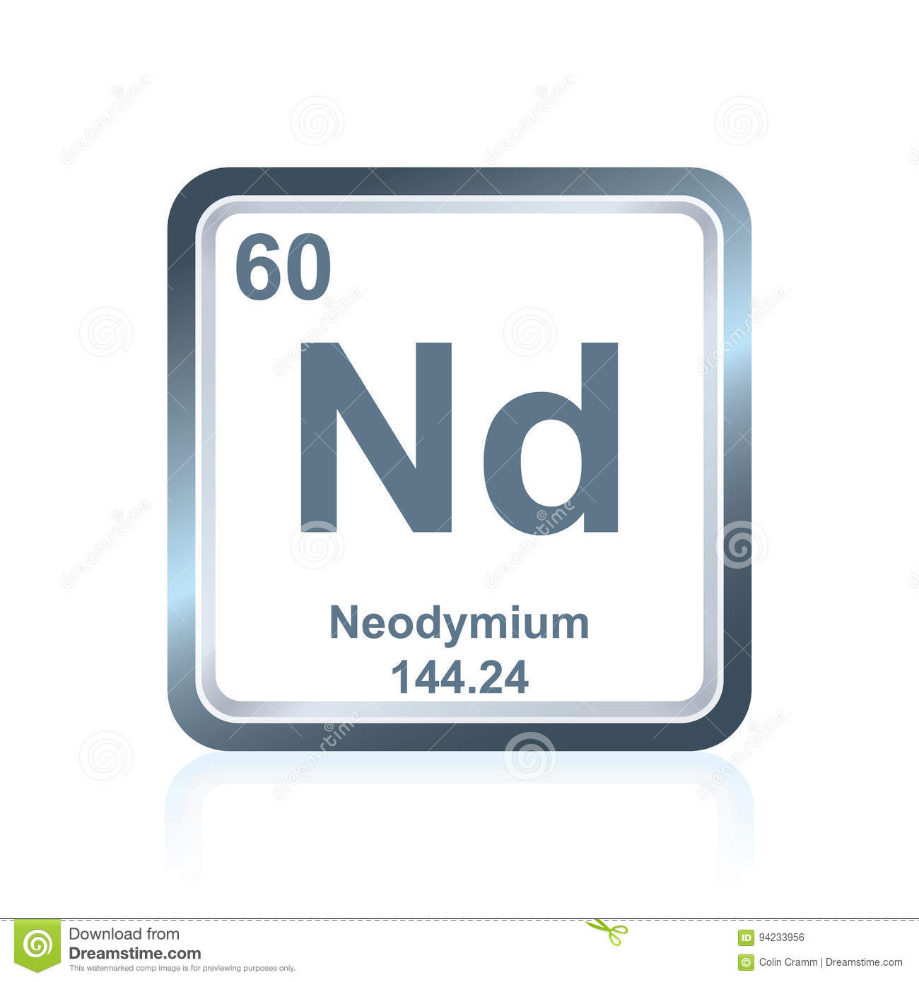 Chemical element neodymium from the periodic table stock royalty free illustration download chemical element neodymium from the periodic table gamestrikefo Choice Image