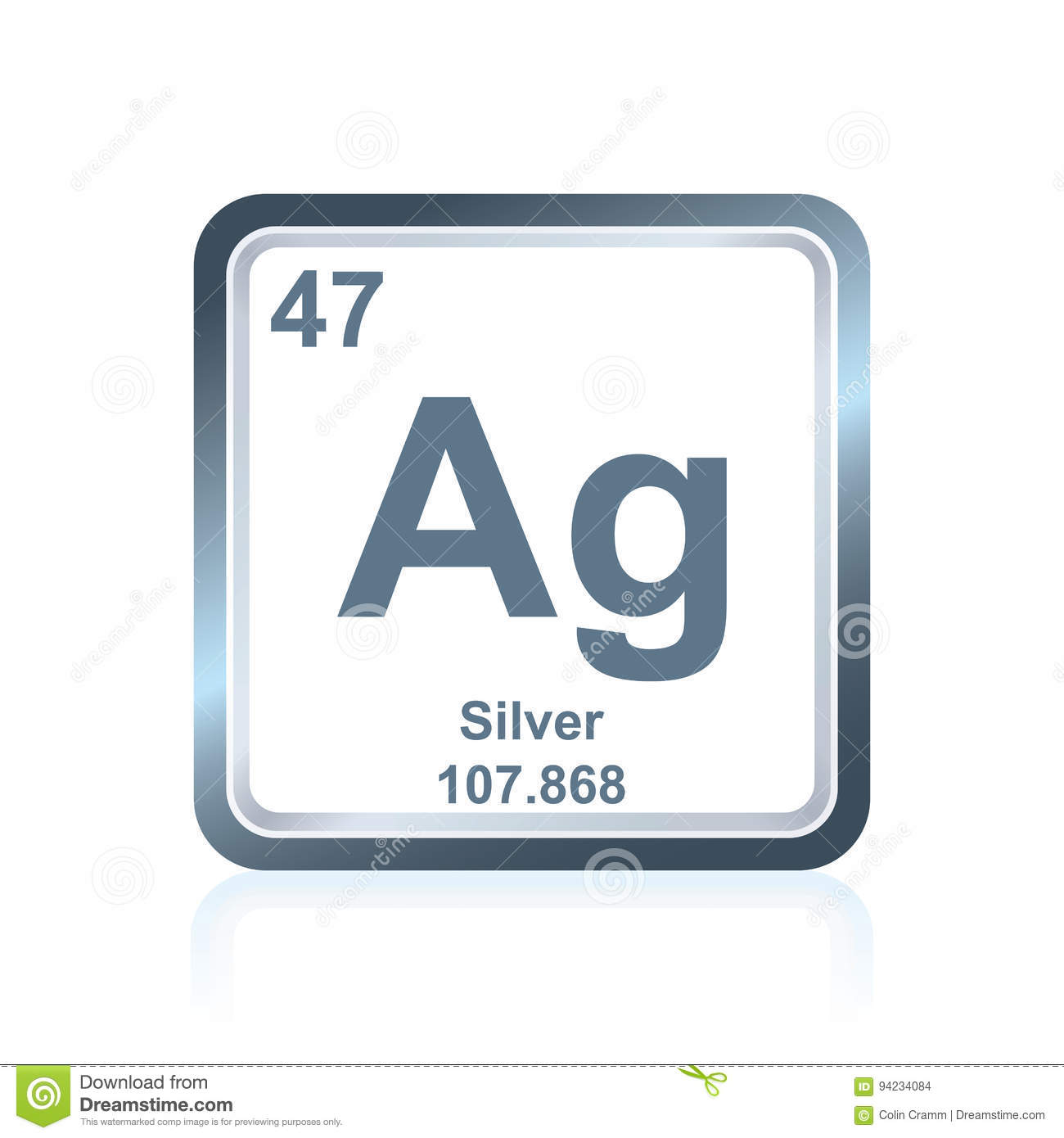 Chemical element silver from the periodic table stock illustration download chemical element silver from the periodic table stock illustration illustration of number atomic urtaz Gallery