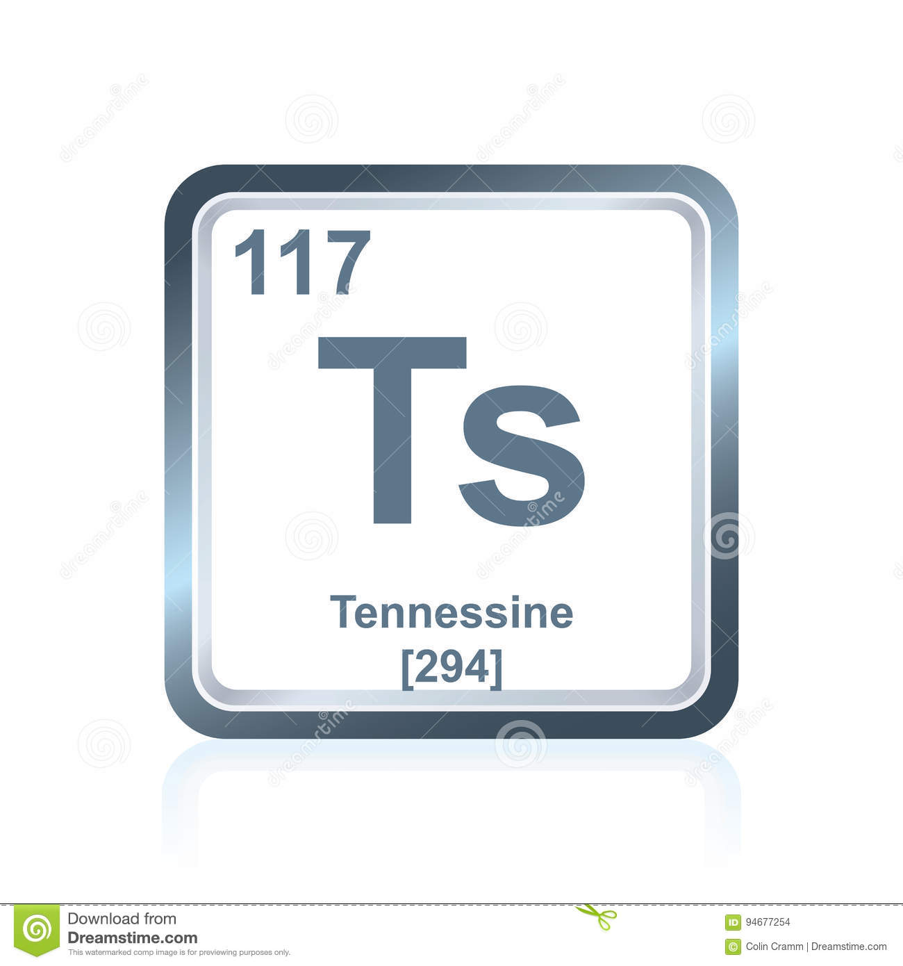 Chemical element tennessine from the periodic table stock chemical element tennessine from the periodic table urtaz Image collections