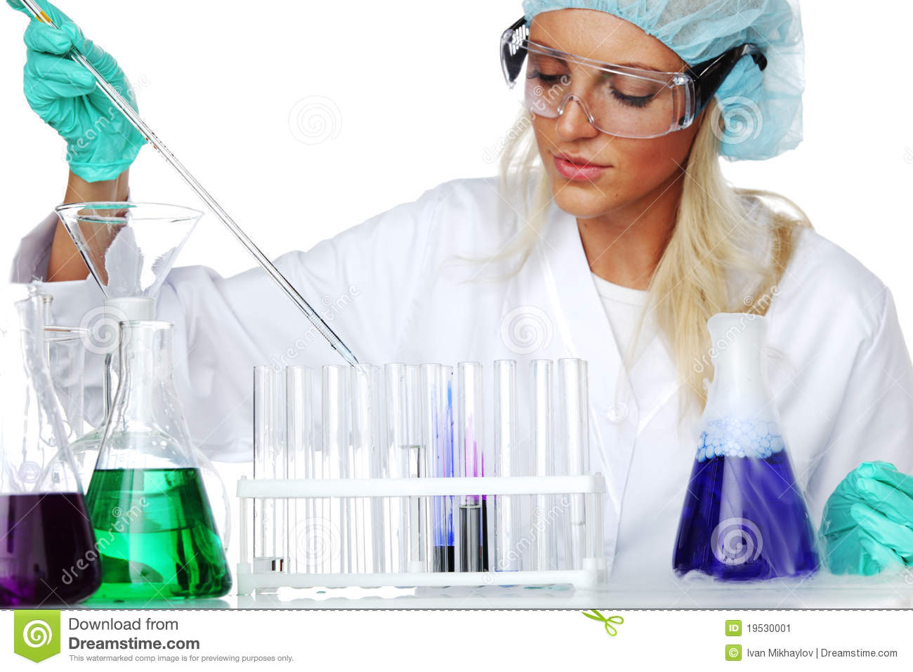 Chemical Experiment Stock Image Image 19530001