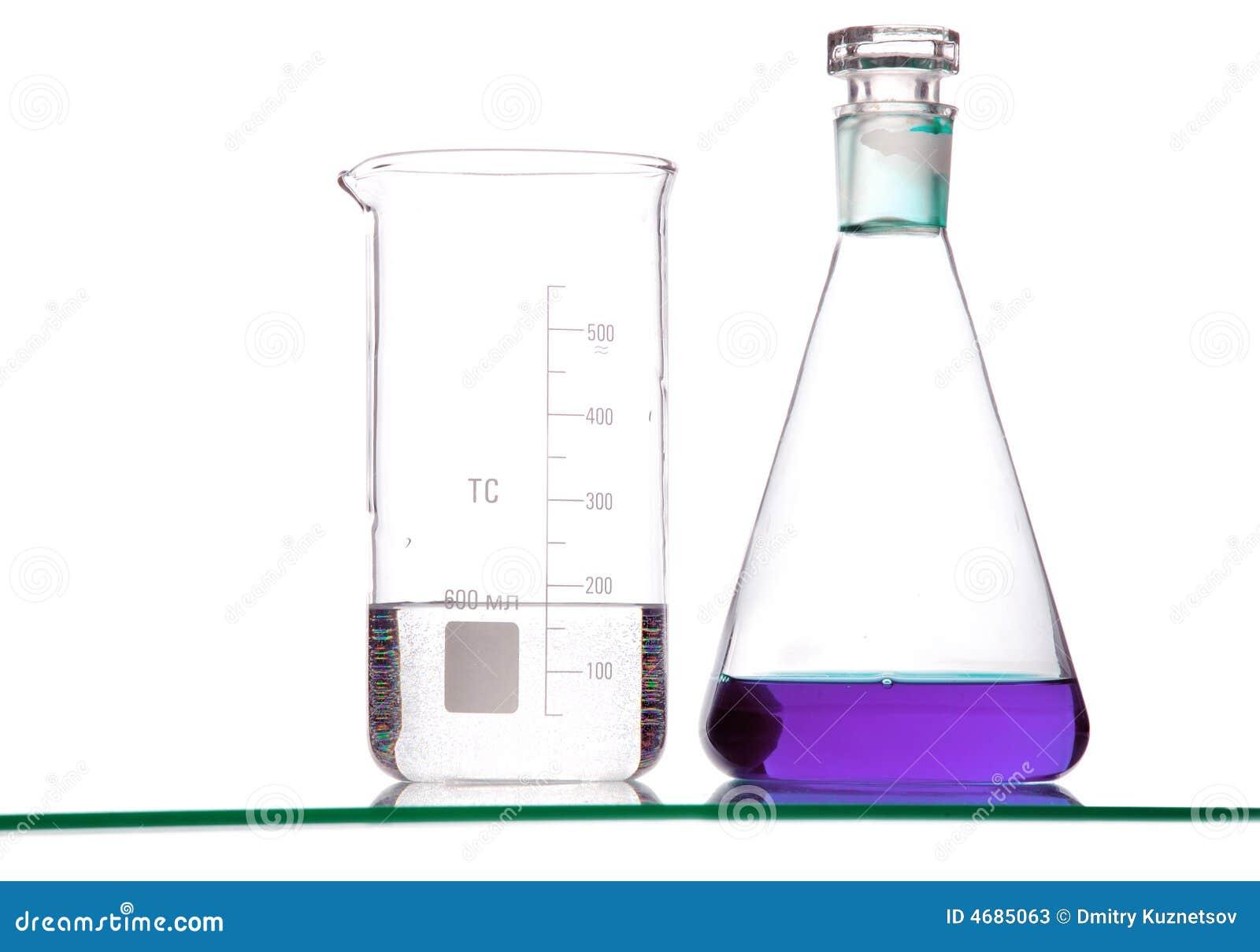 Chemical exponeringsglas med vätskor