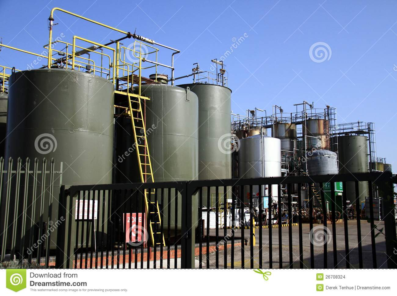 Chemical Factory Plant Stock Images Image 26708324